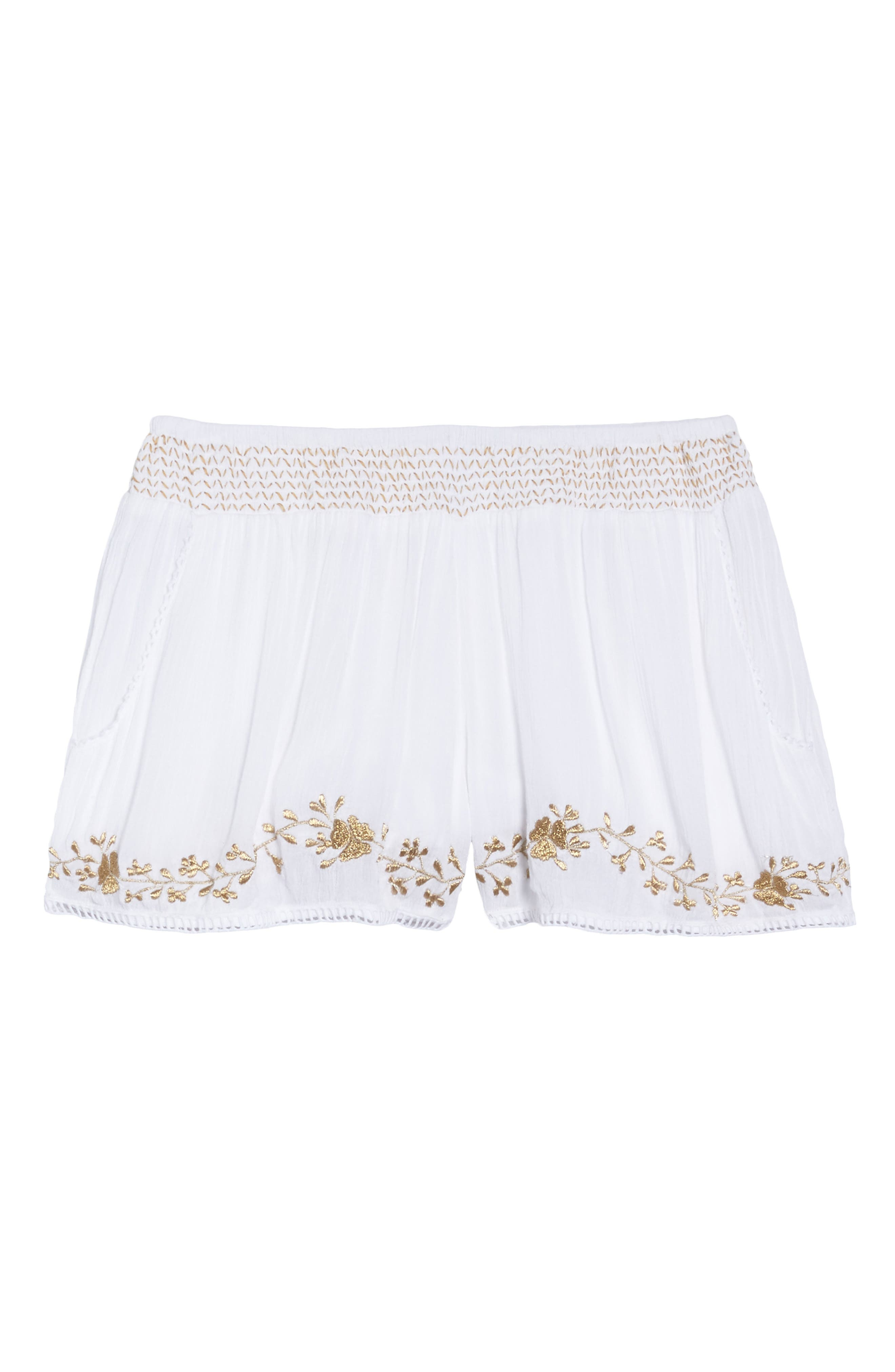 Muche at Muchette Cleopatra Shorts,                             Alternate thumbnail 6, color,                             100