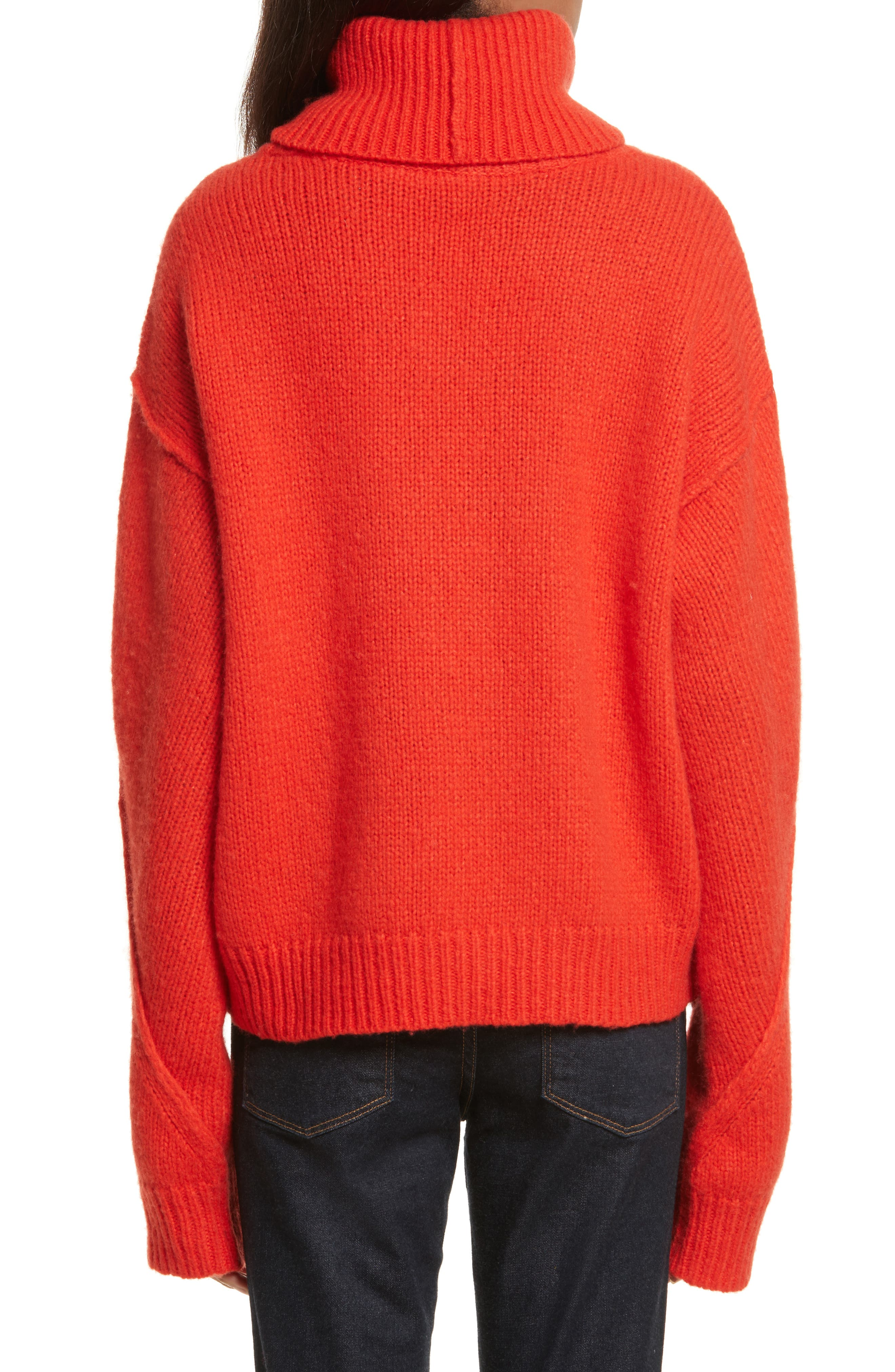 Eva Sweater with Removable Turtleneck,                             Alternate thumbnail 5, color,