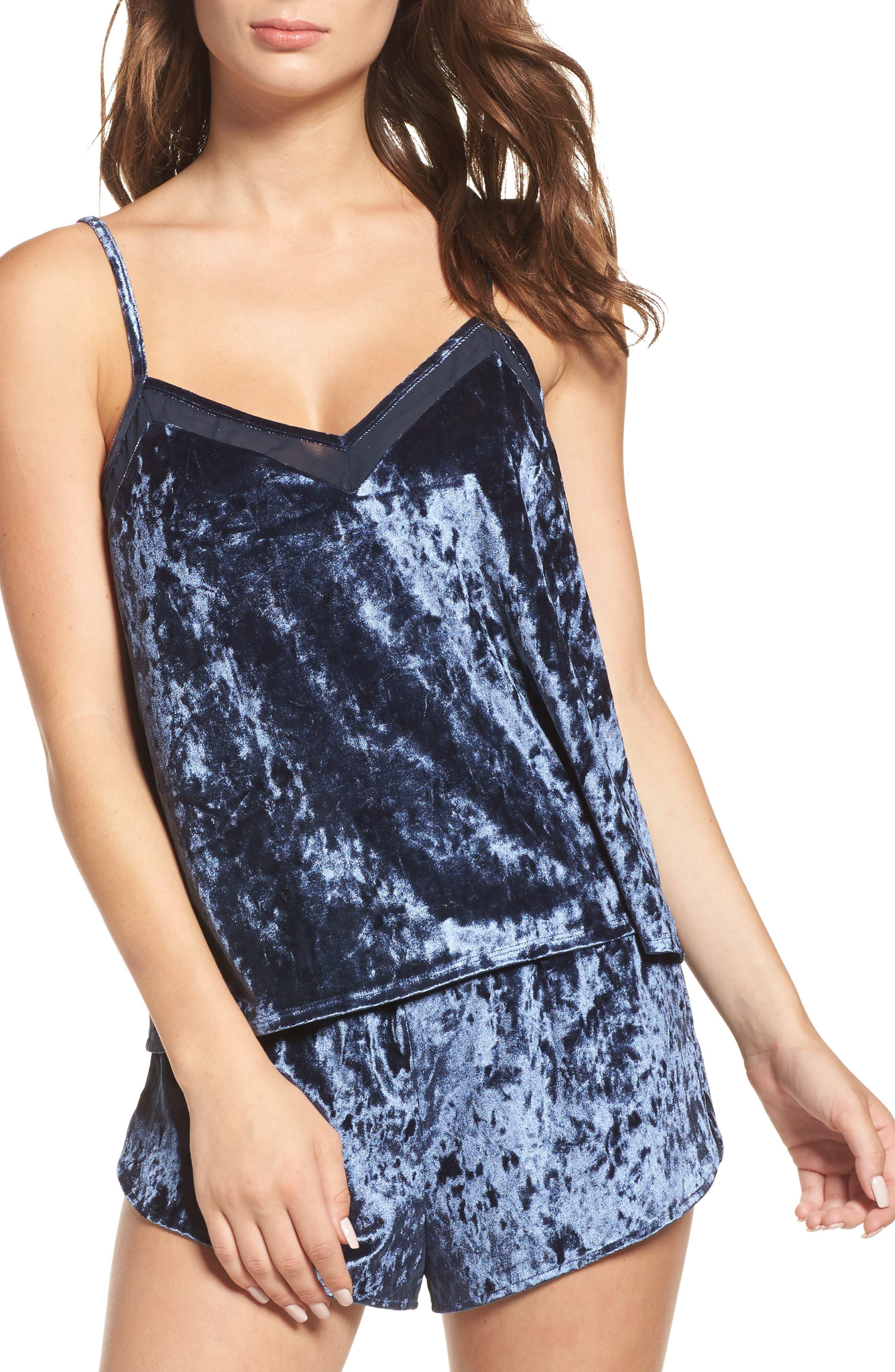 Starry Night Velvet Camisole,                         Main,                         color,