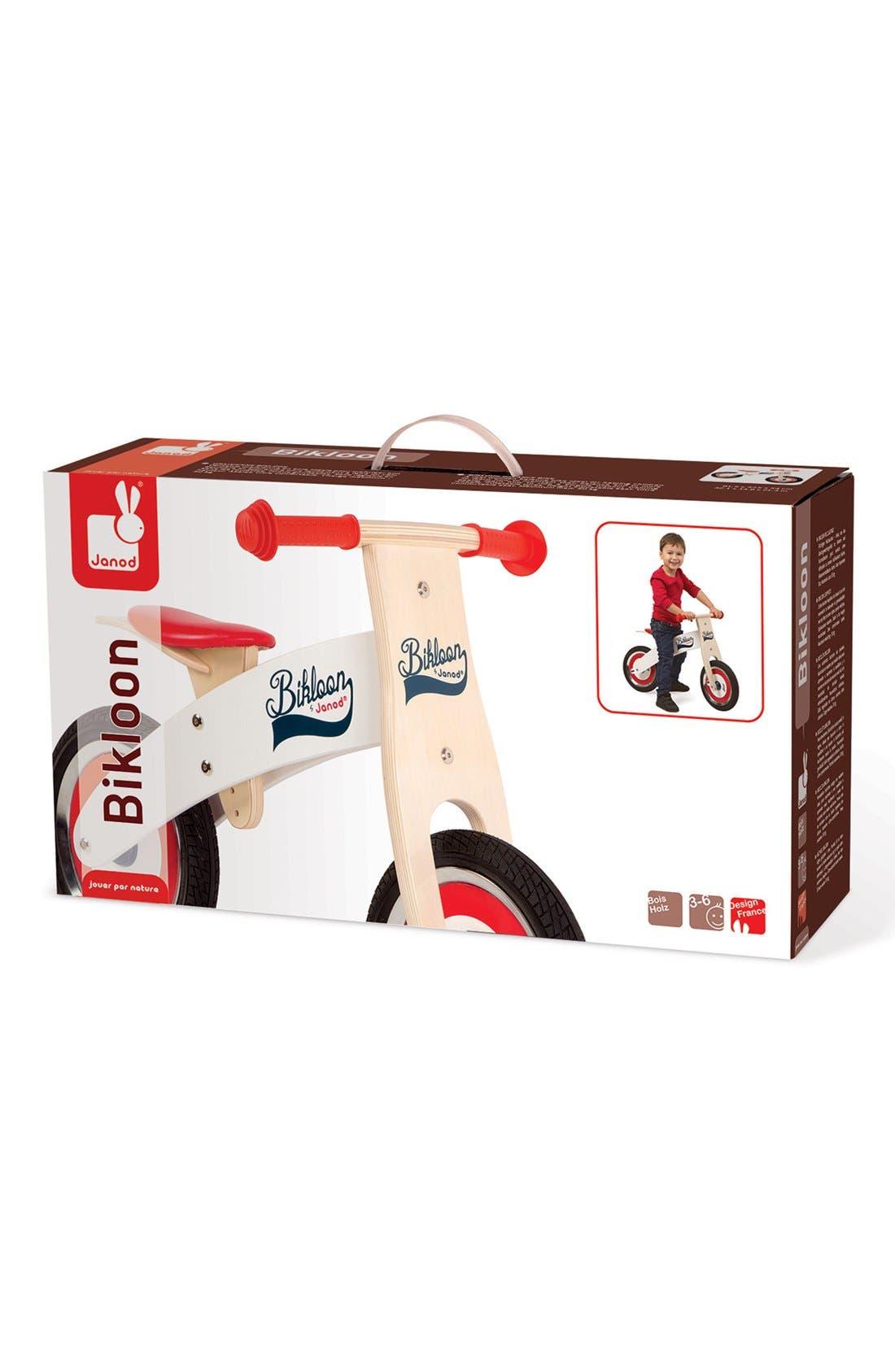 'Bikloon' Balance Bike,                             Alternate thumbnail 4, color,                             RED