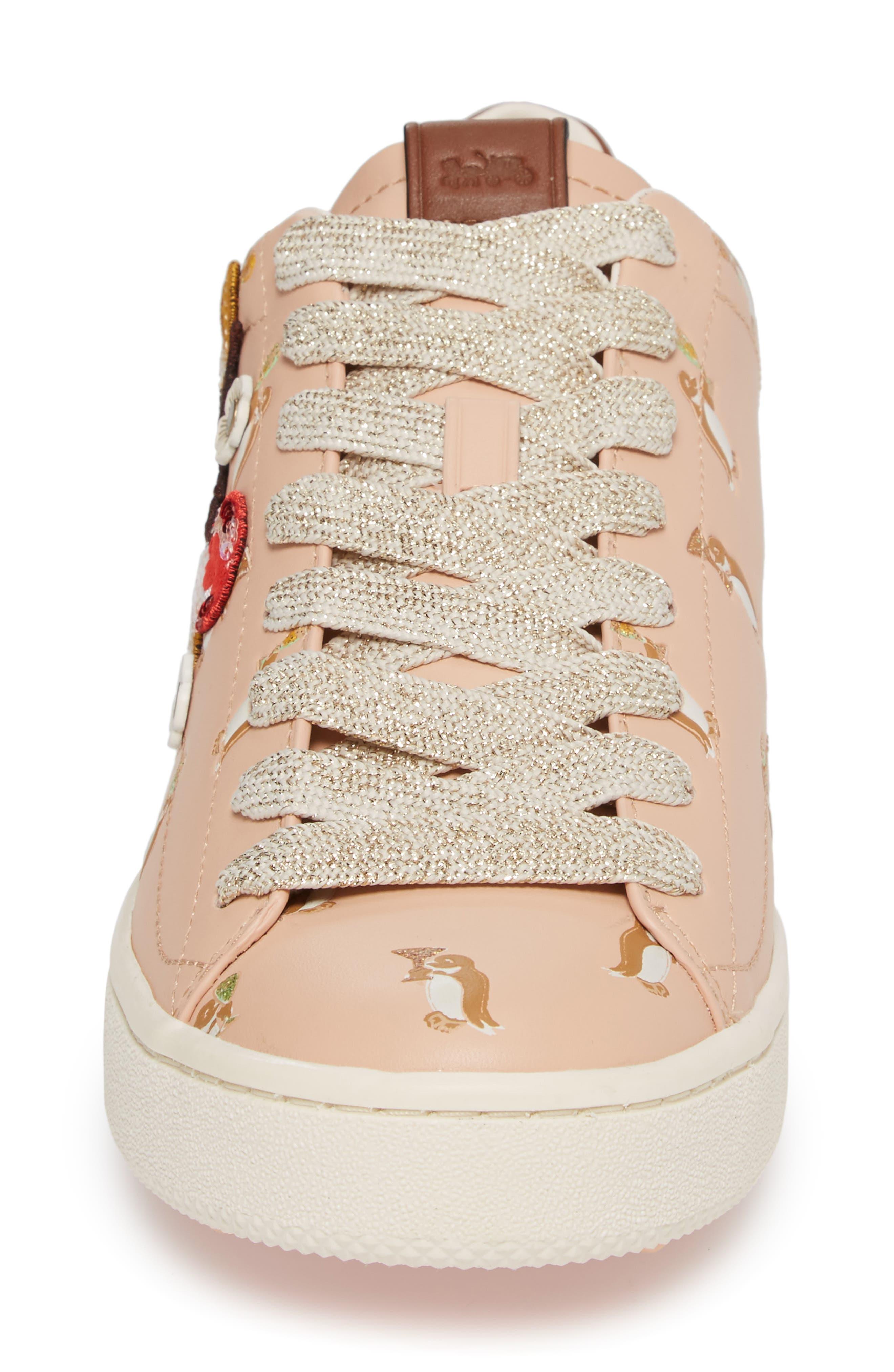 Patch Sneaker,                             Alternate thumbnail 4, color,                             650