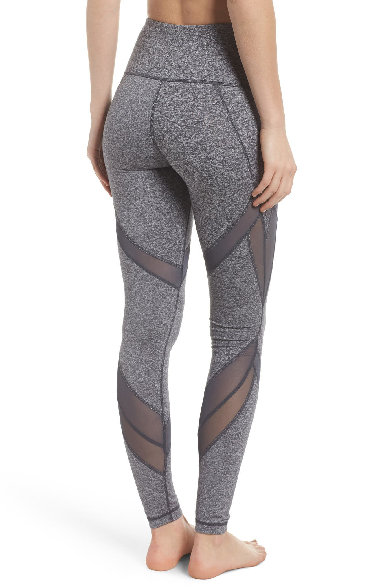 In Dreams High Waist Leggings,                             Alternate thumbnail 2, color,                             GREY GRAPHITE MELANGE