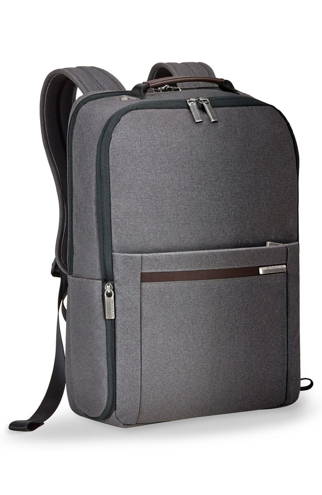 Kinzie Street Medium Backpack,                             Alternate thumbnail 3, color,                             GREY