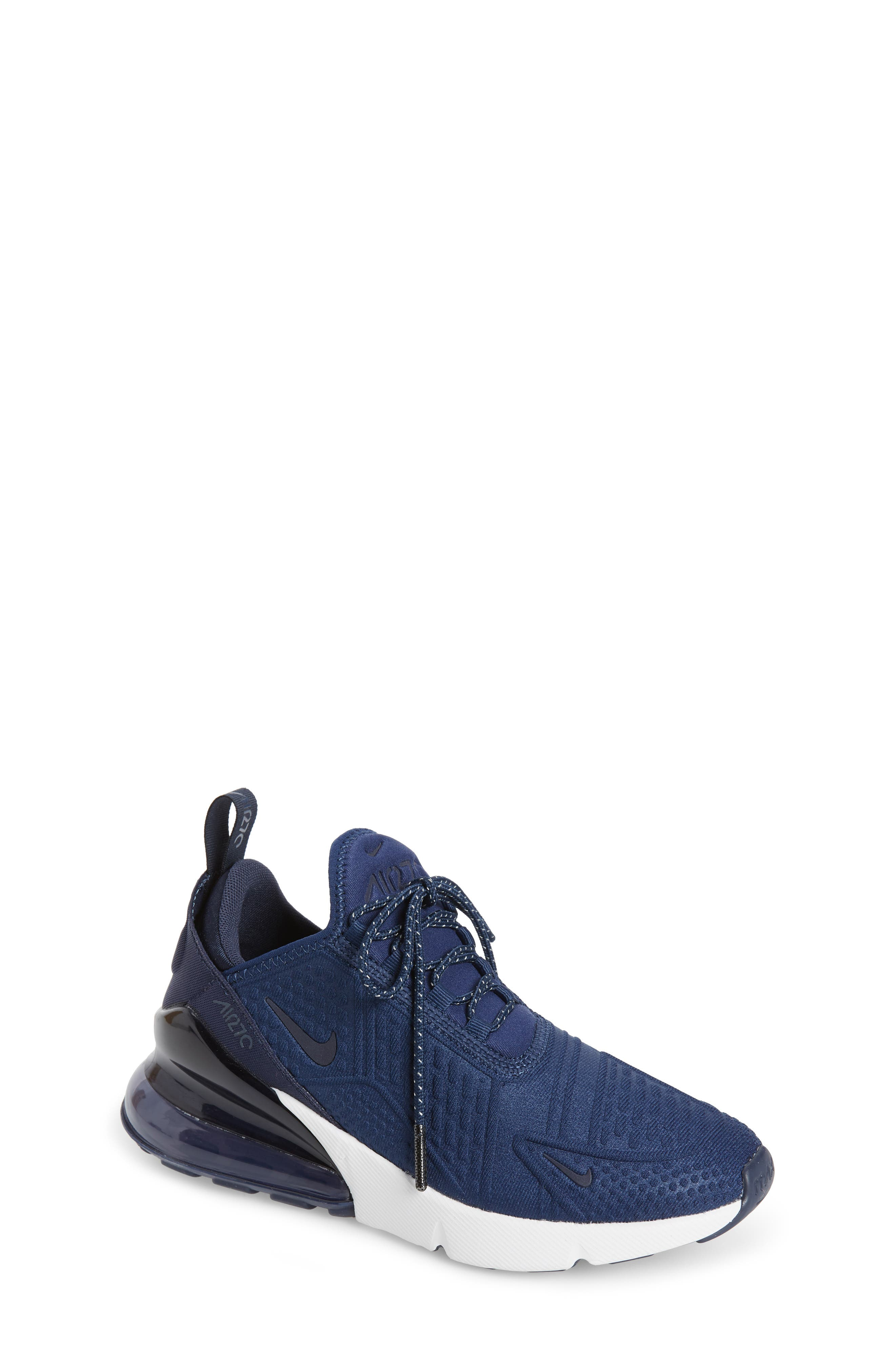Kids Nike Air Max 270 Sneaker Size 65 M  Blue