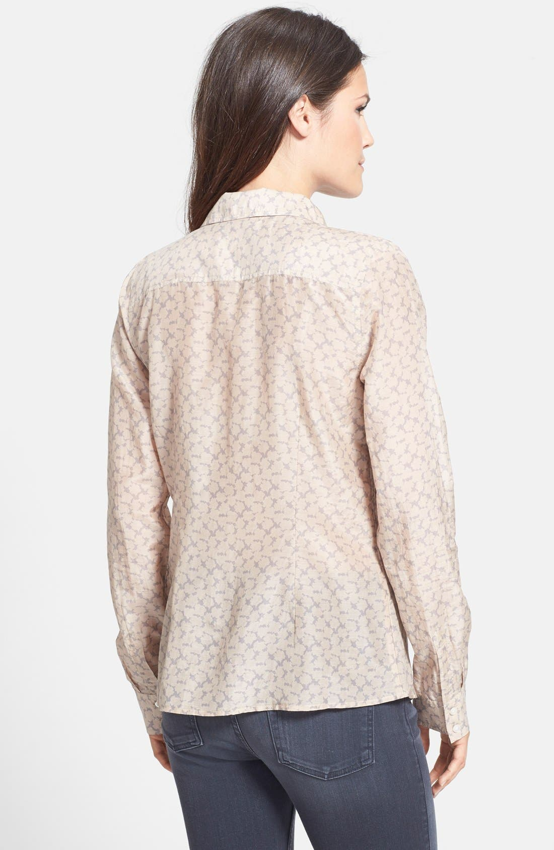 Cotton & Silk Shirt,                             Alternate thumbnail 55, color,