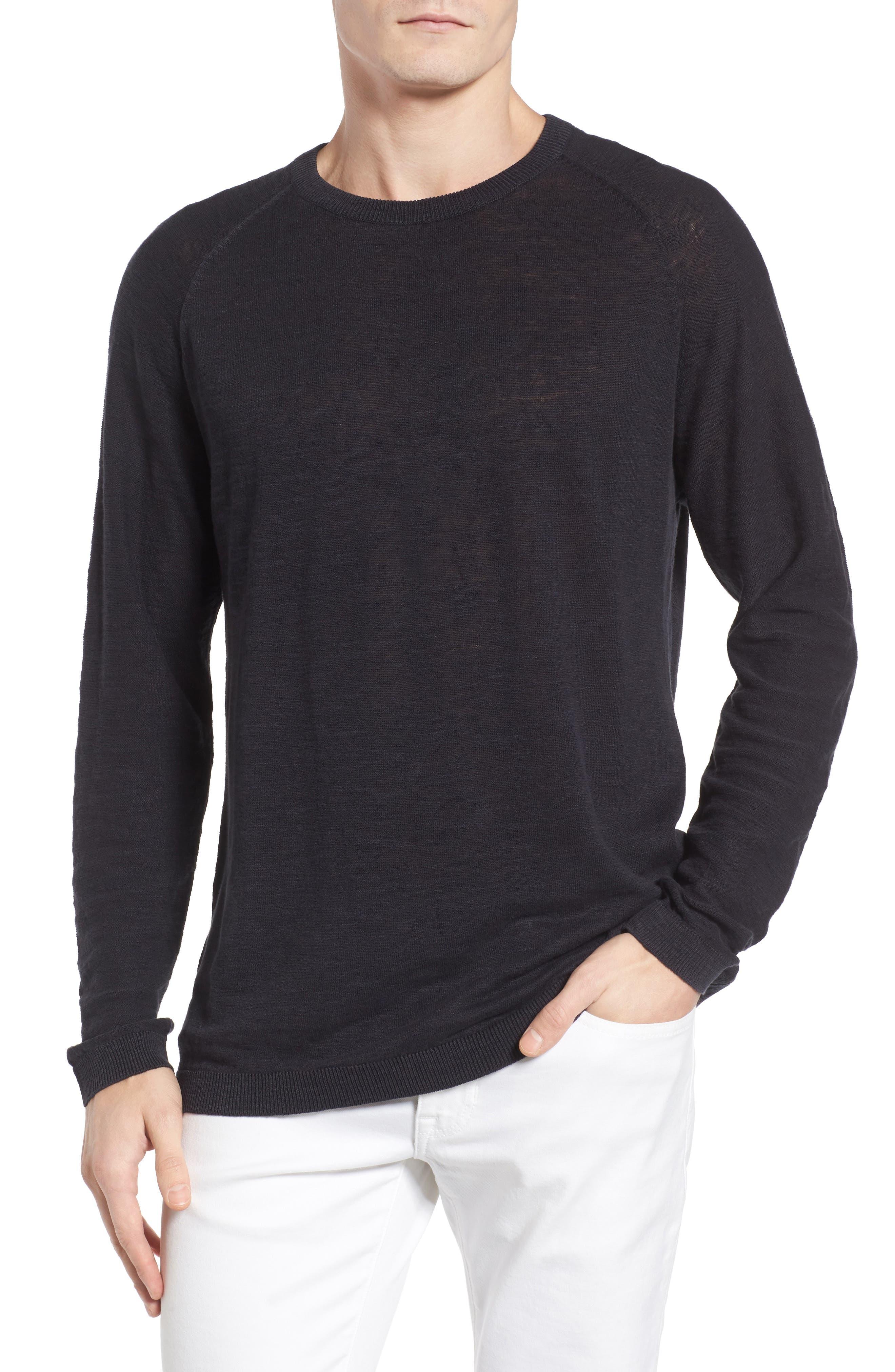Arambol Cotton & Linen Sweater,                             Main thumbnail 1, color,                             409