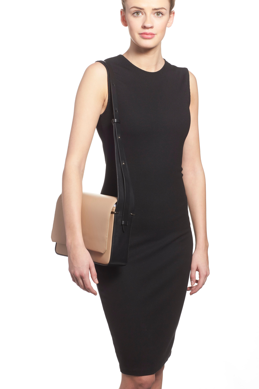 'Alix' Flap Shoulder Bag,                             Alternate thumbnail 10, color,