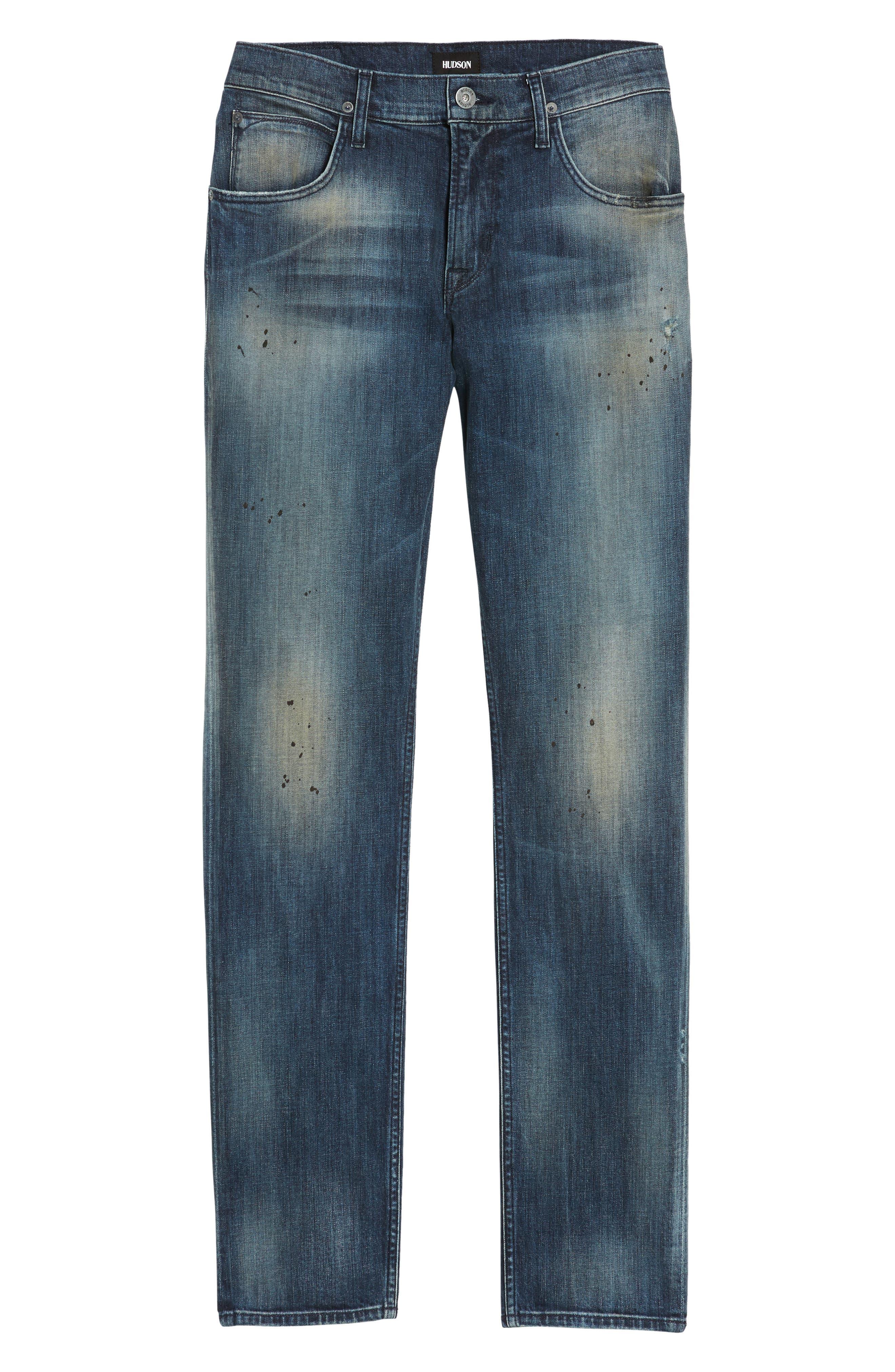 Blake Slim Fit Jeans,                             Alternate thumbnail 6, color,                             425