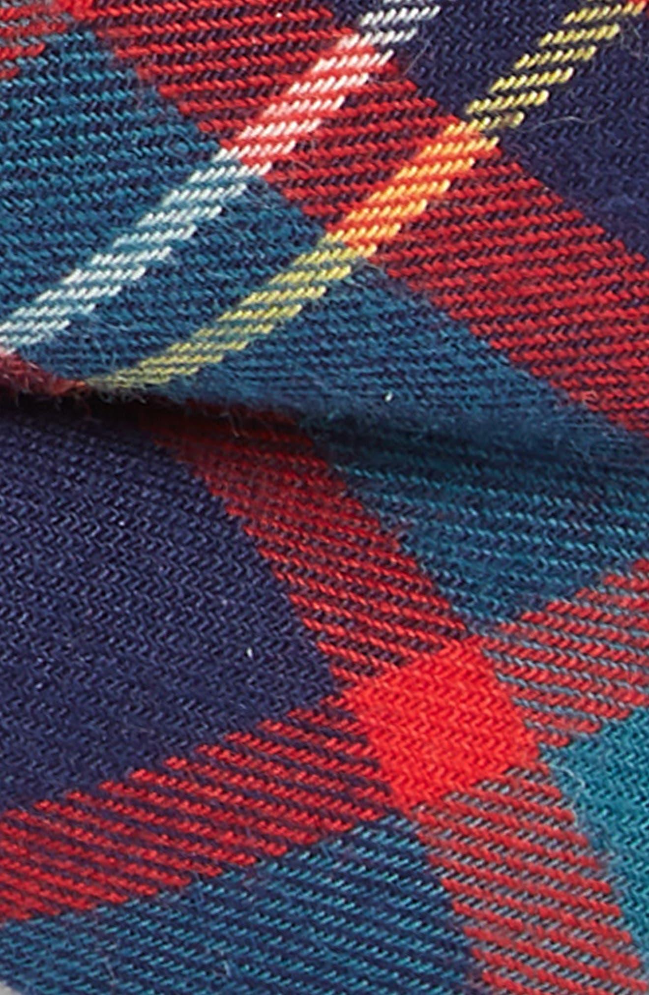 Plaid Cotton Bow Tie,                             Alternate thumbnail 2, color,                             600