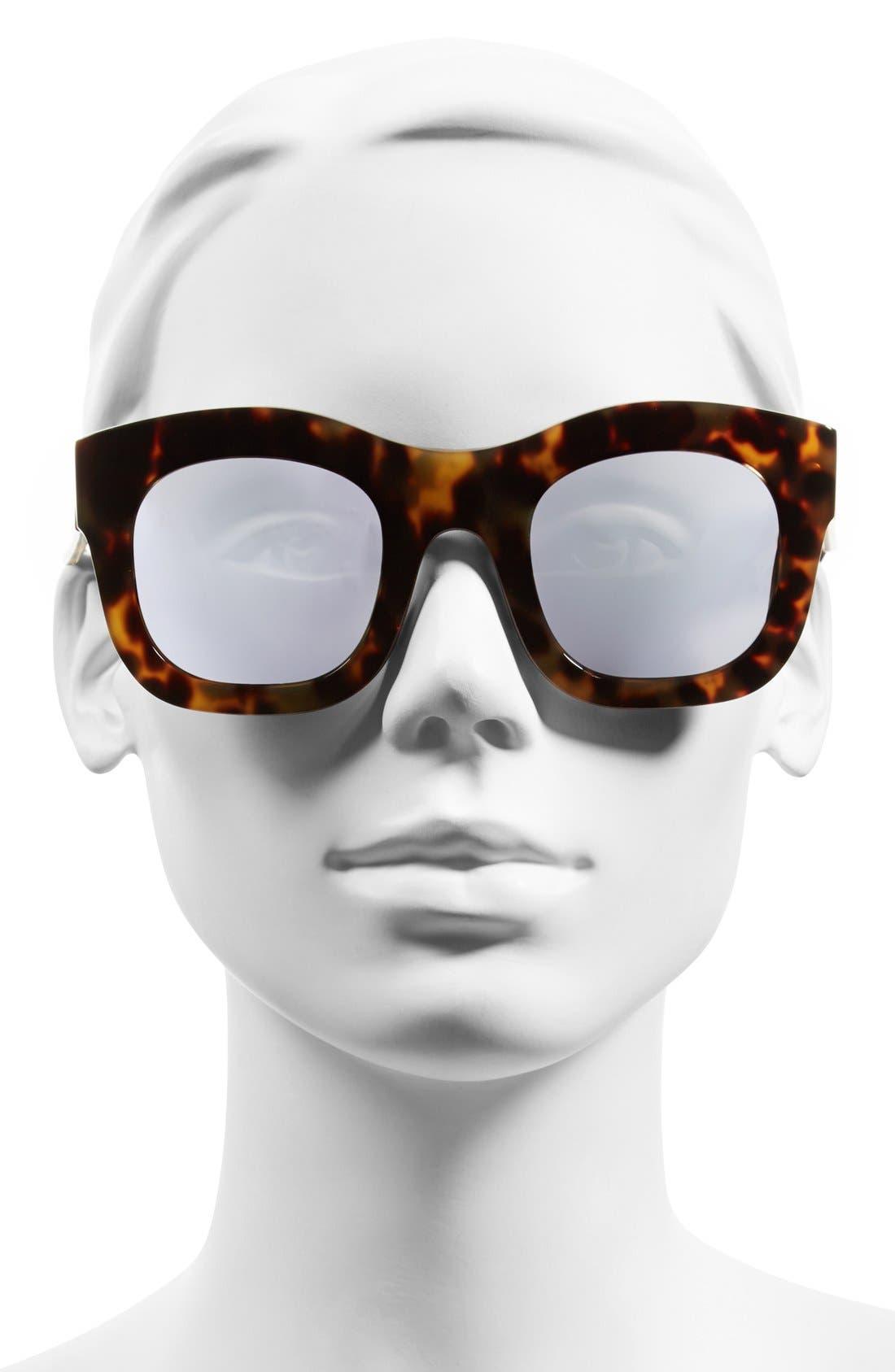 'Hamilton' 49mm Retro Sunglasses,                             Alternate thumbnail 17, color,