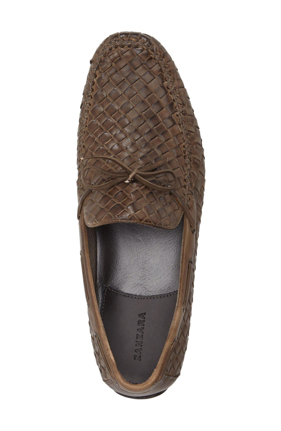 Leather Loafer,                             Alternate thumbnail 23, color,