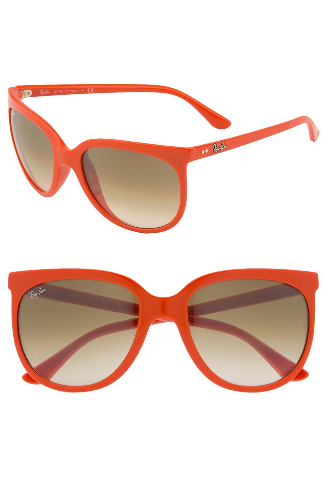 Retro Cat Eye Sunglasses,                             Main thumbnail 10, color,