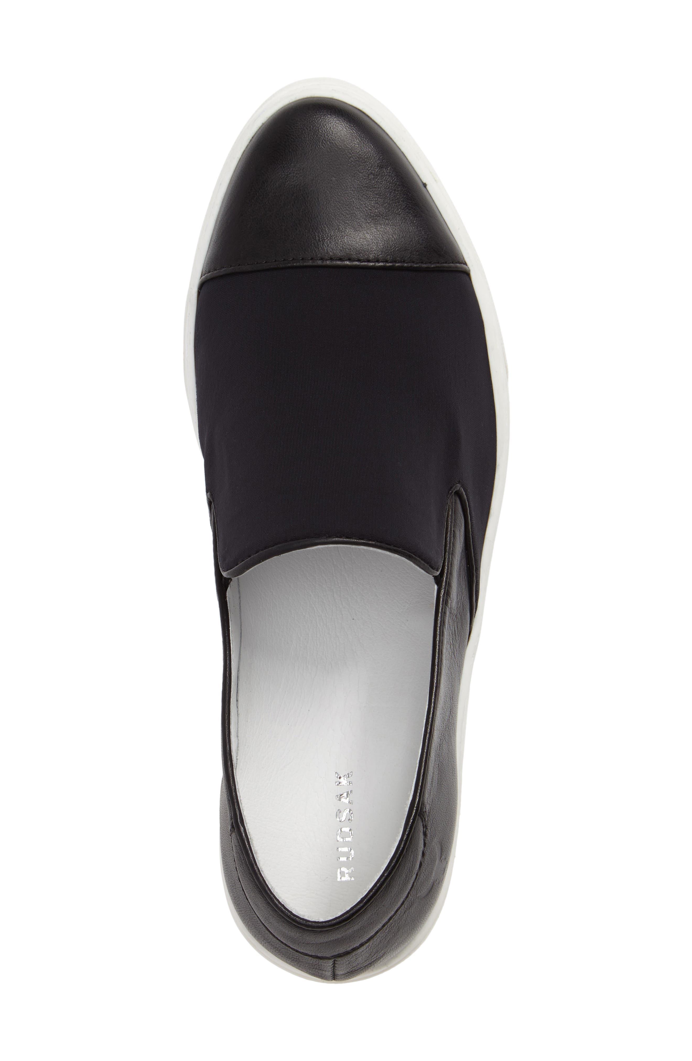 Betsy Slip-On Sneaker,                             Alternate thumbnail 5, color,                             001
