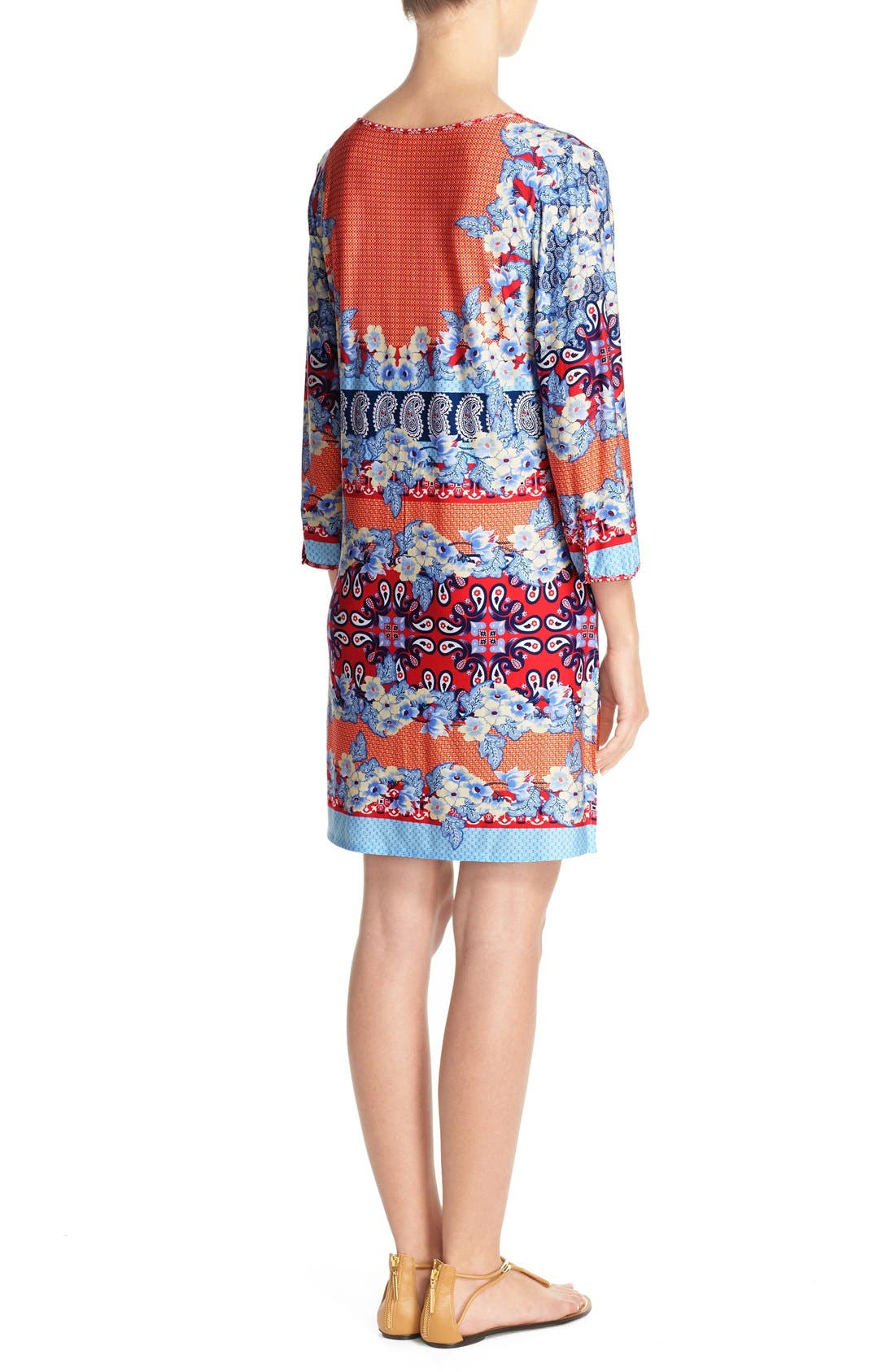 Stretch Modal Cover-Up Dress,                             Alternate thumbnail 5, color,                             080