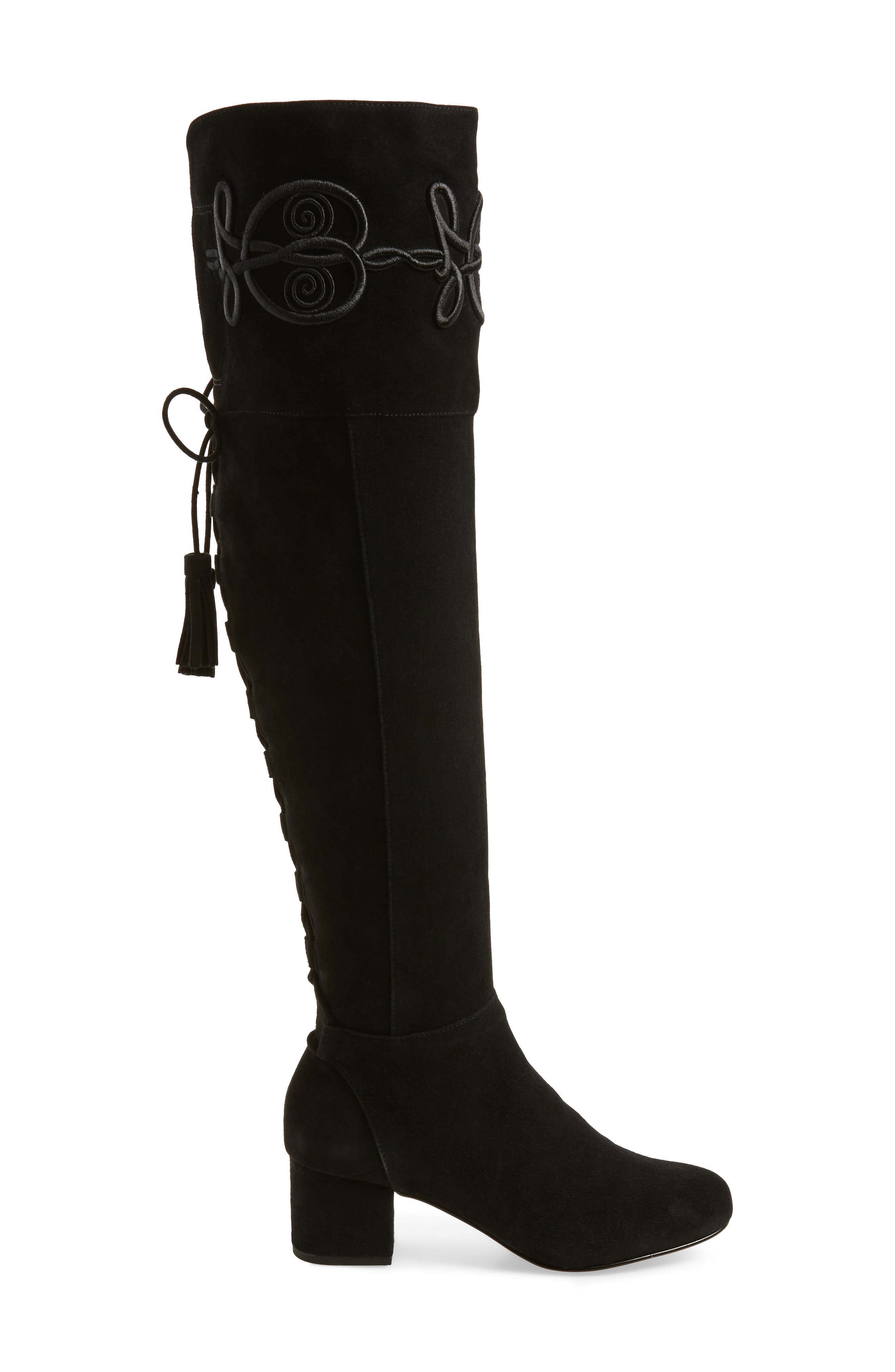 Shiloh Over the Knee Boot,                             Alternate thumbnail 3, color,                             004