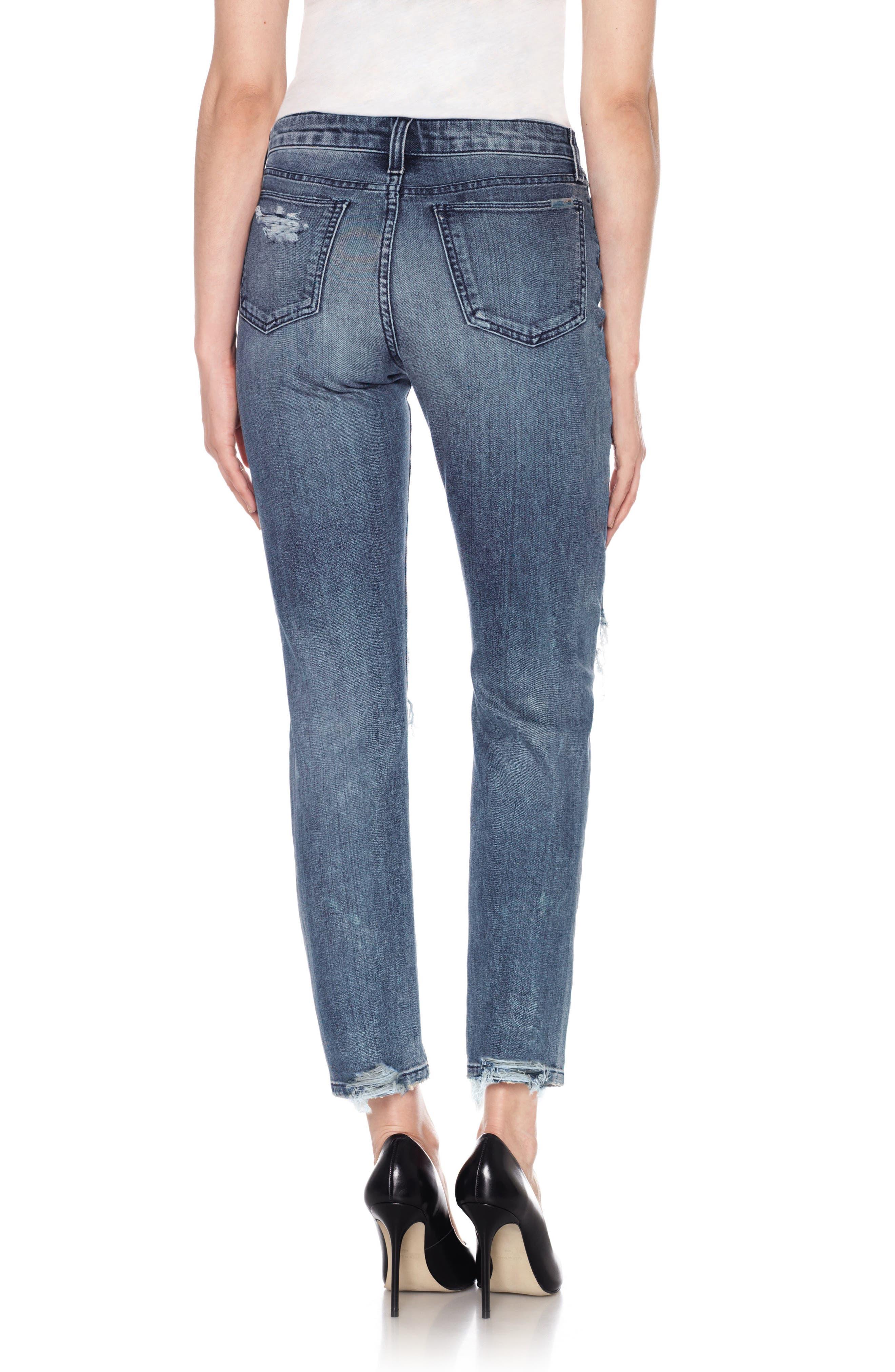 Kass Ankle Skinny Jeans,                             Alternate thumbnail 2, color,                             415