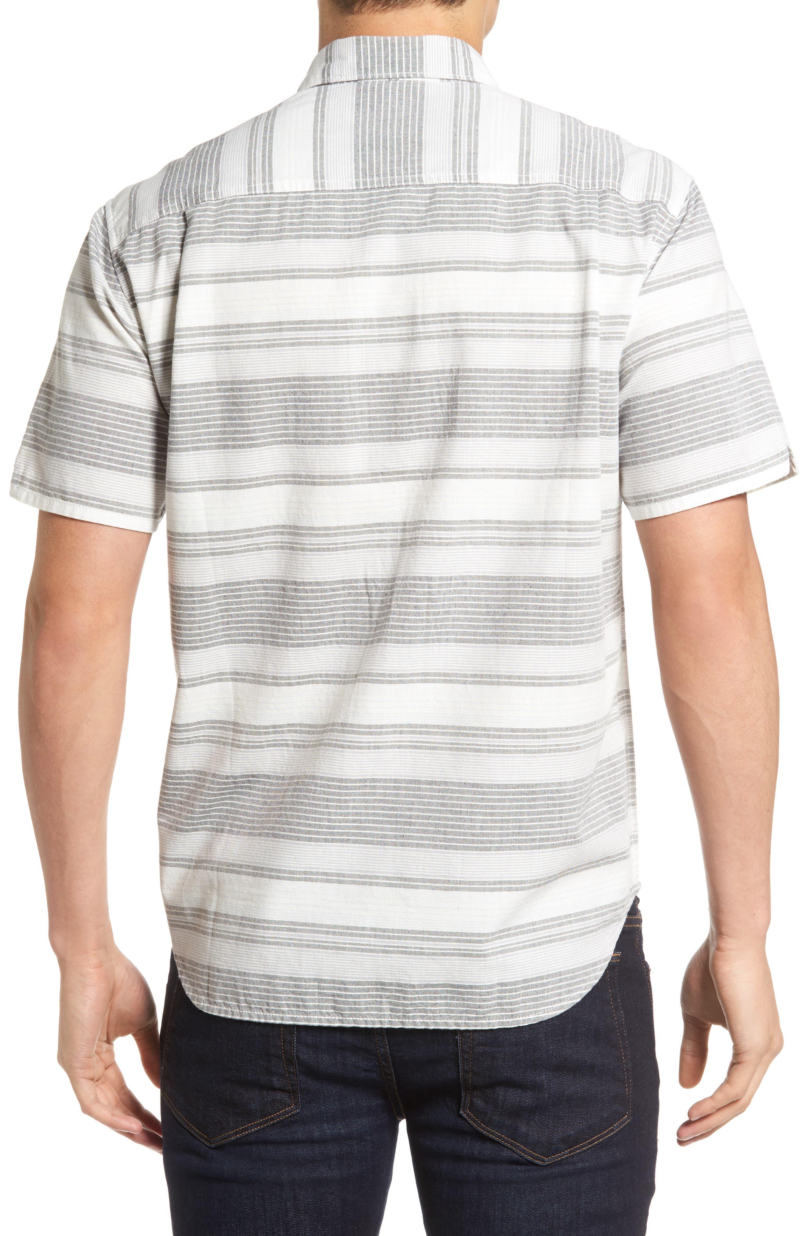 Clambake Stripe Standard Fit Sport Shirt,                             Alternate thumbnail 2, color,