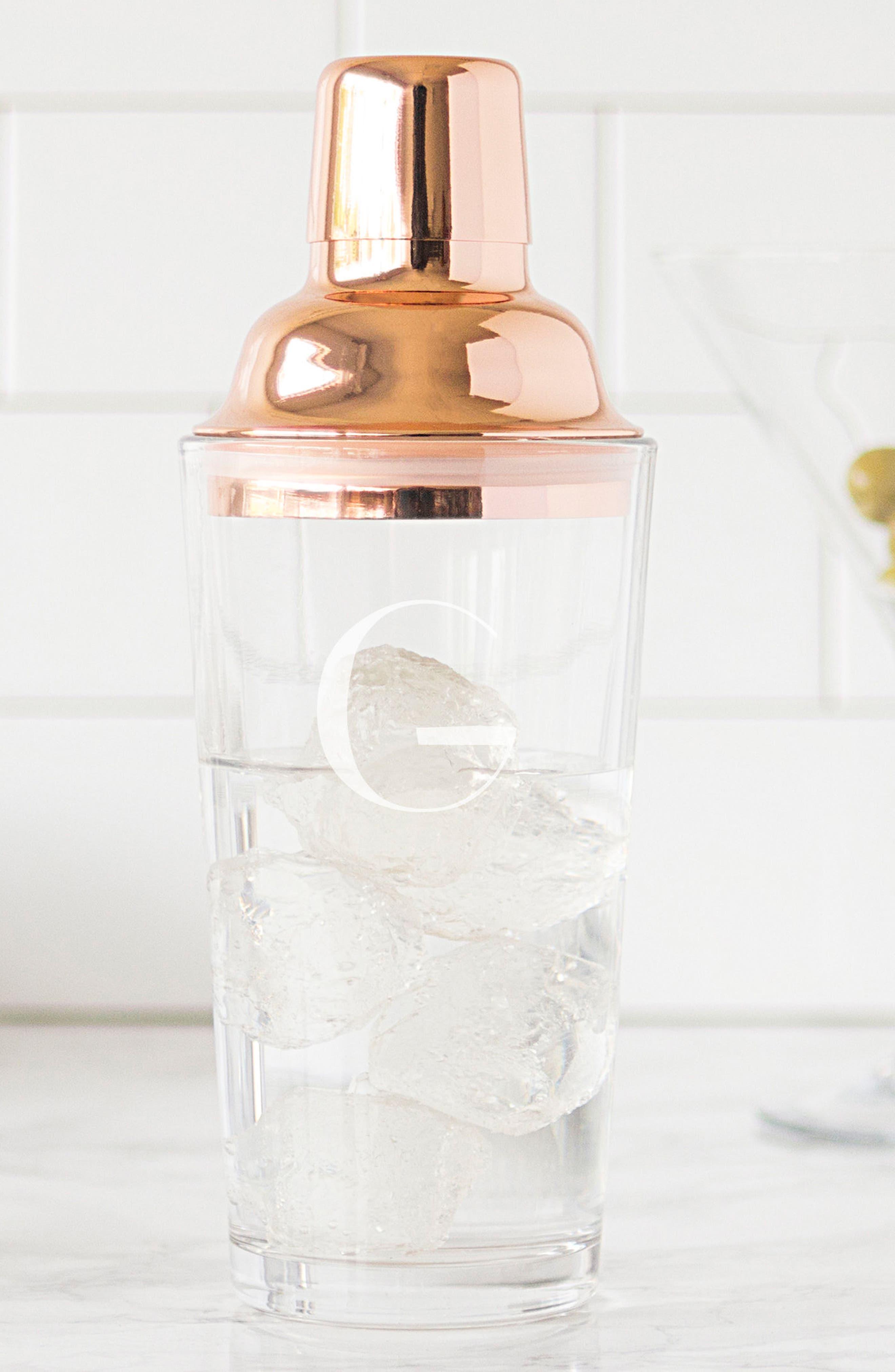 Monogram Coppertone Cocktail Shaker,                             Main thumbnail 8, color,