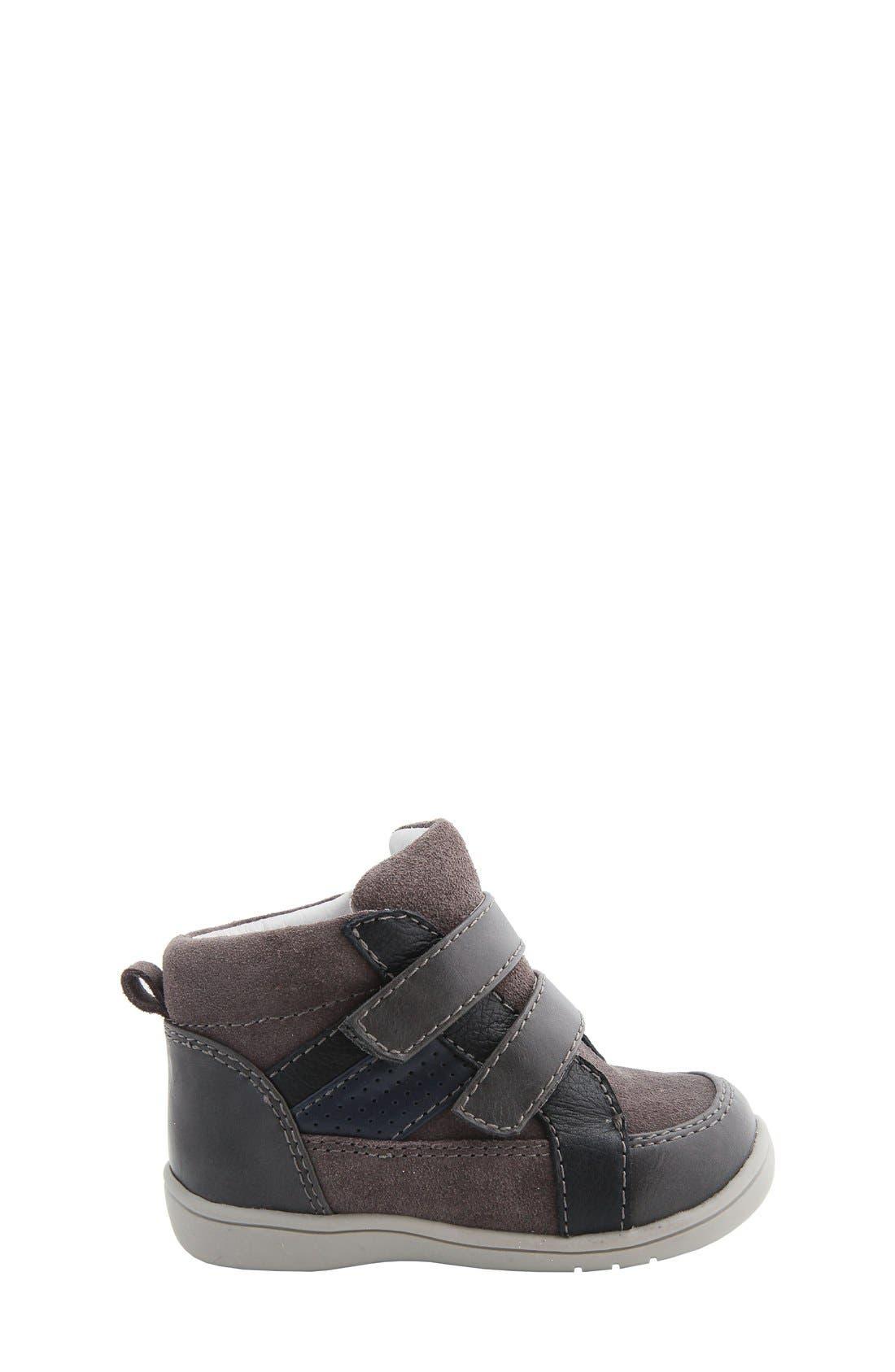 Nina 'Cairo' High Top Sneaker,                             Alternate thumbnail 6, color,                             064