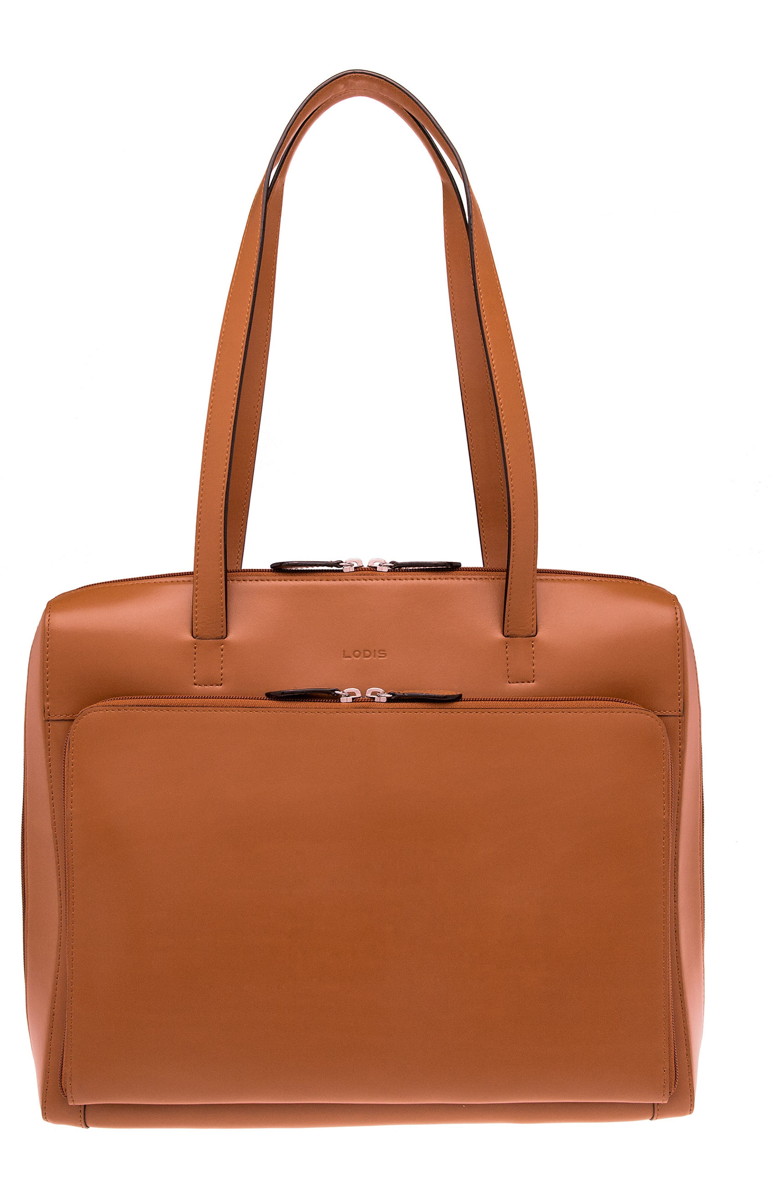 Audrey Under Lock & Key Organizer Tote,                             Alternate thumbnail 2, color,                             TOFFEE