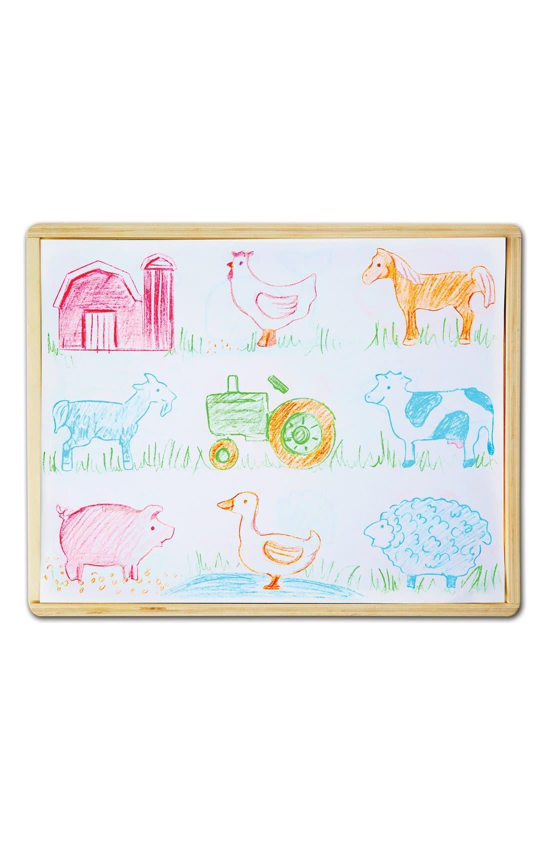 Wooden Stencil Box,                             Alternate thumbnail 2, color,                             200