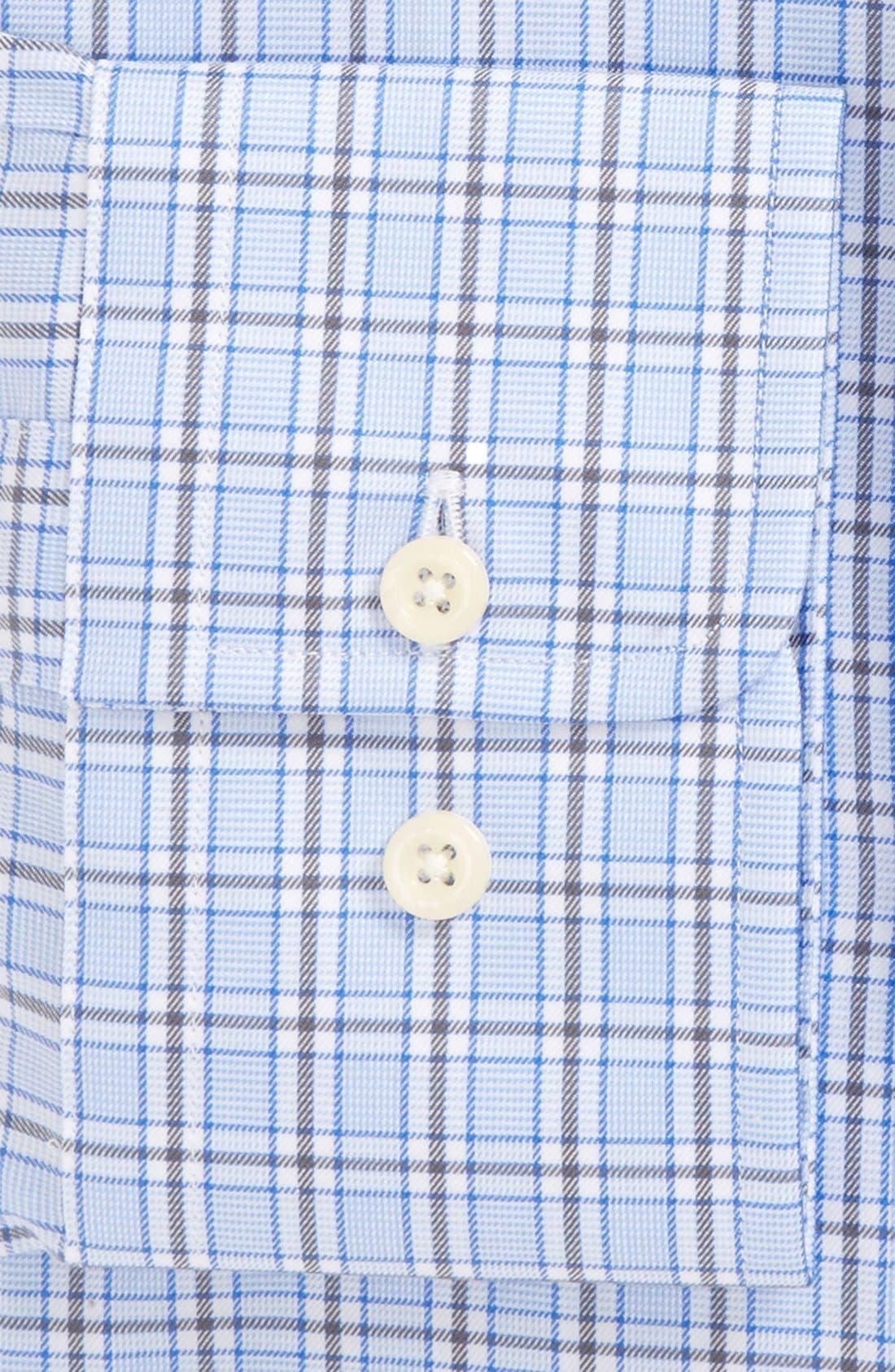 Regular Fit Plaid Dress Shirt,                             Alternate thumbnail 2, color,                             489