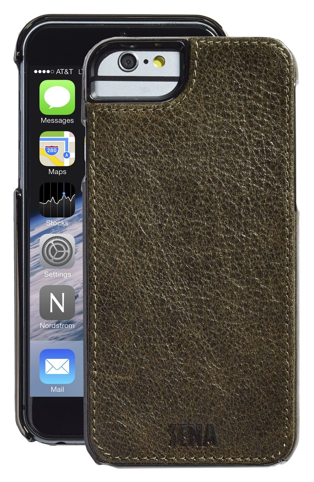 Heritage Lugano Leather iPhone 6/6s Case,                             Main thumbnail 2, color,