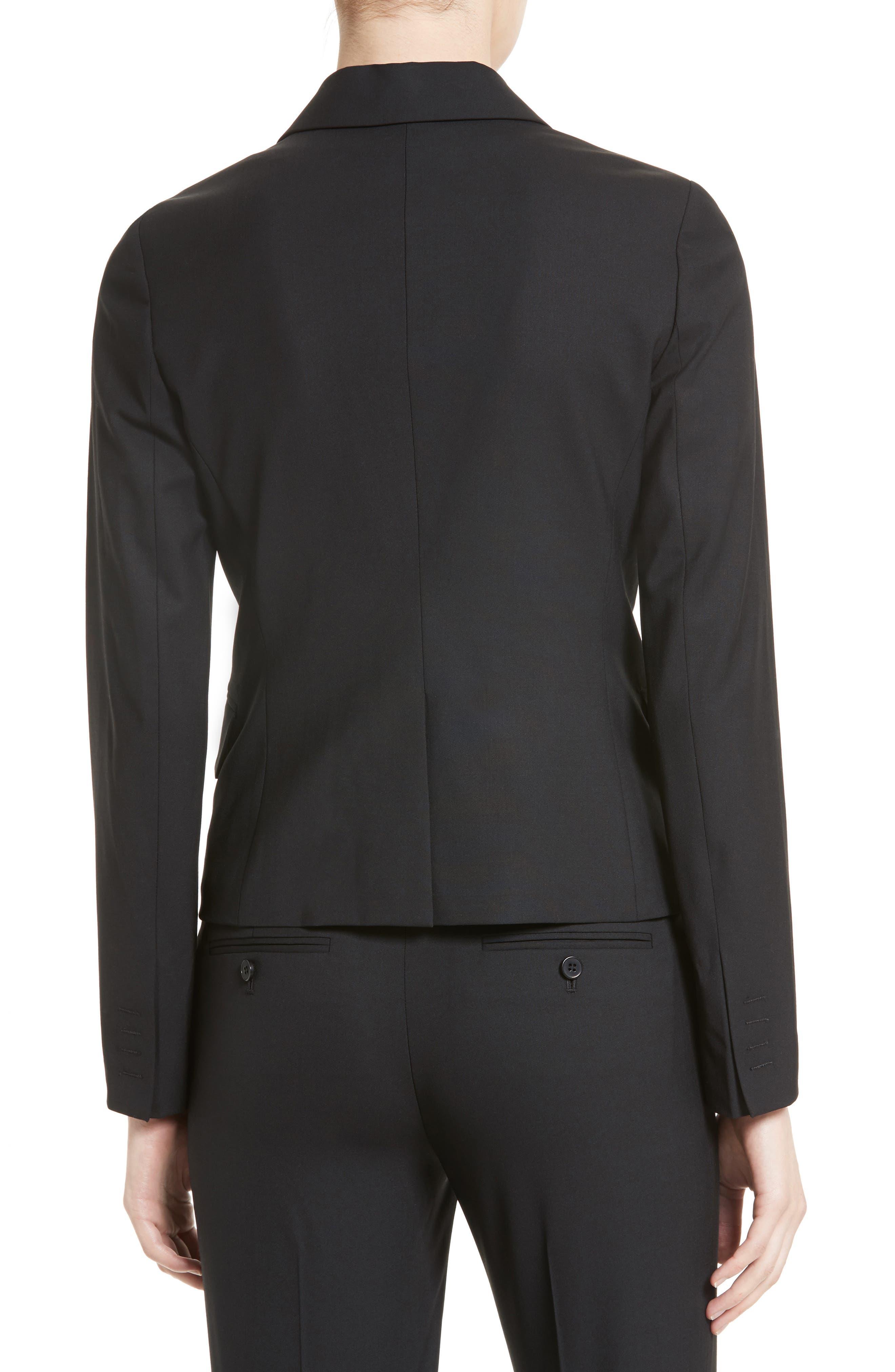 Brince B Good Wool Suit Jacket,                             Alternate thumbnail 2, color,                             BLACK