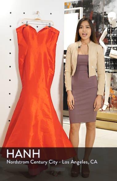 Bustier Mermaid Gown, sales video thumbnail