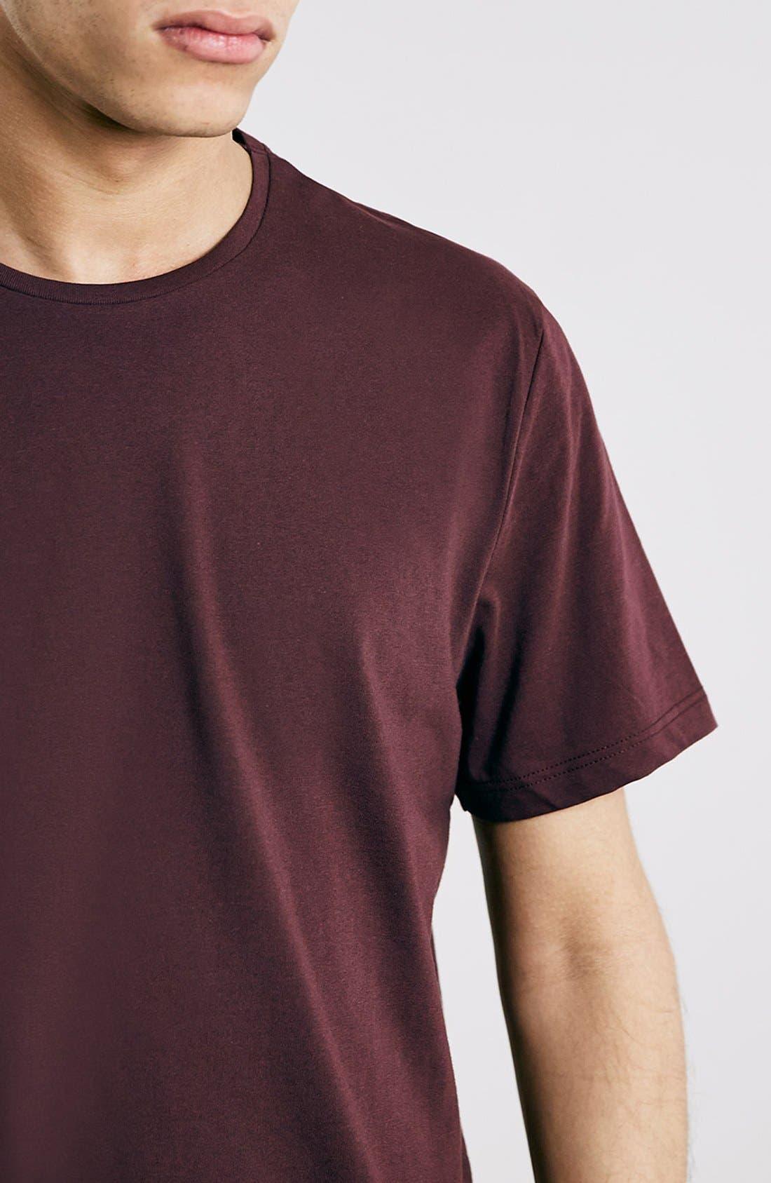 Slim Fit Crewneck T-Shirt,                             Alternate thumbnail 285, color,