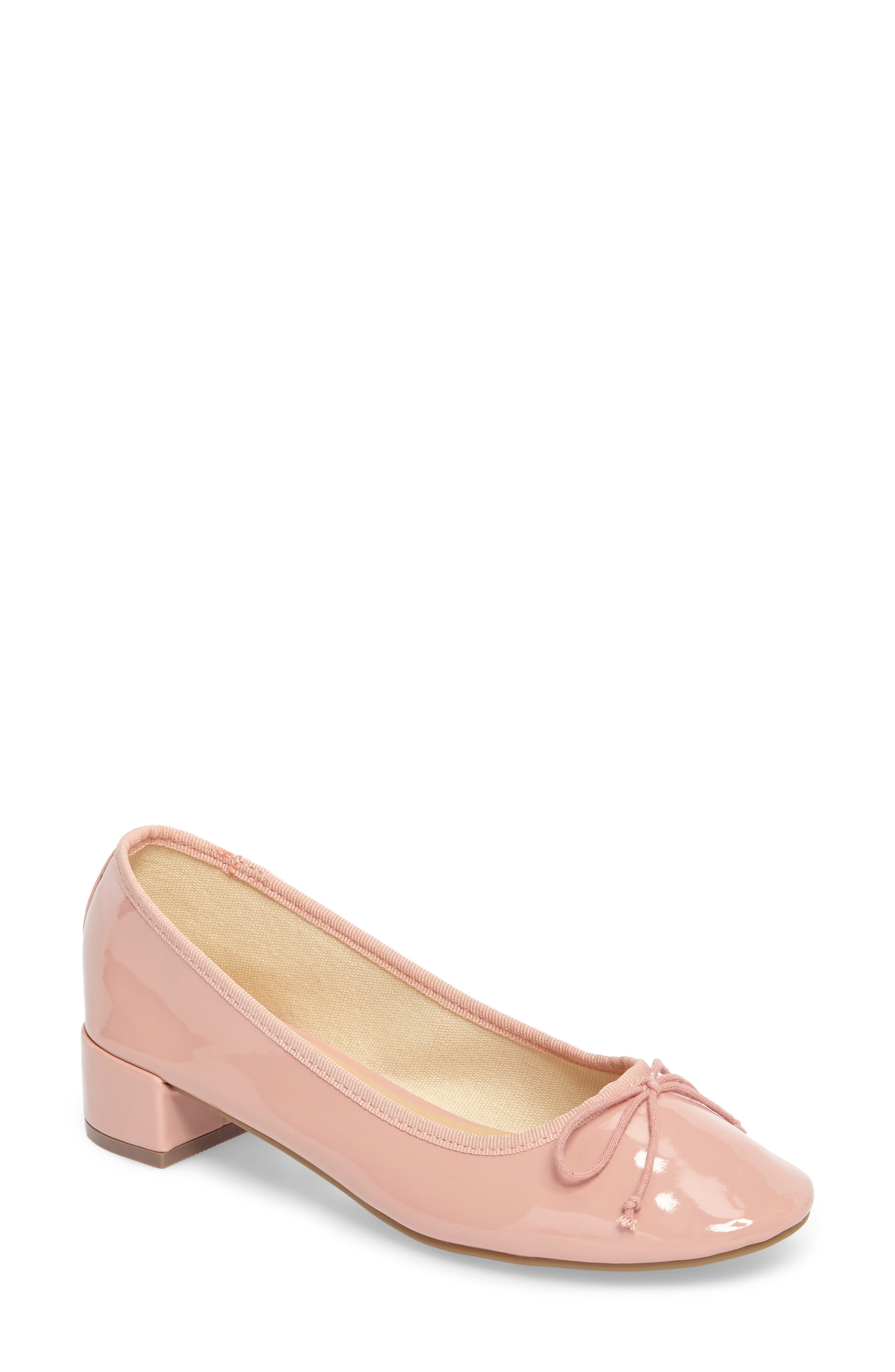 Glory Heeled Ballerina Slippers,                         Main,                         color, 650