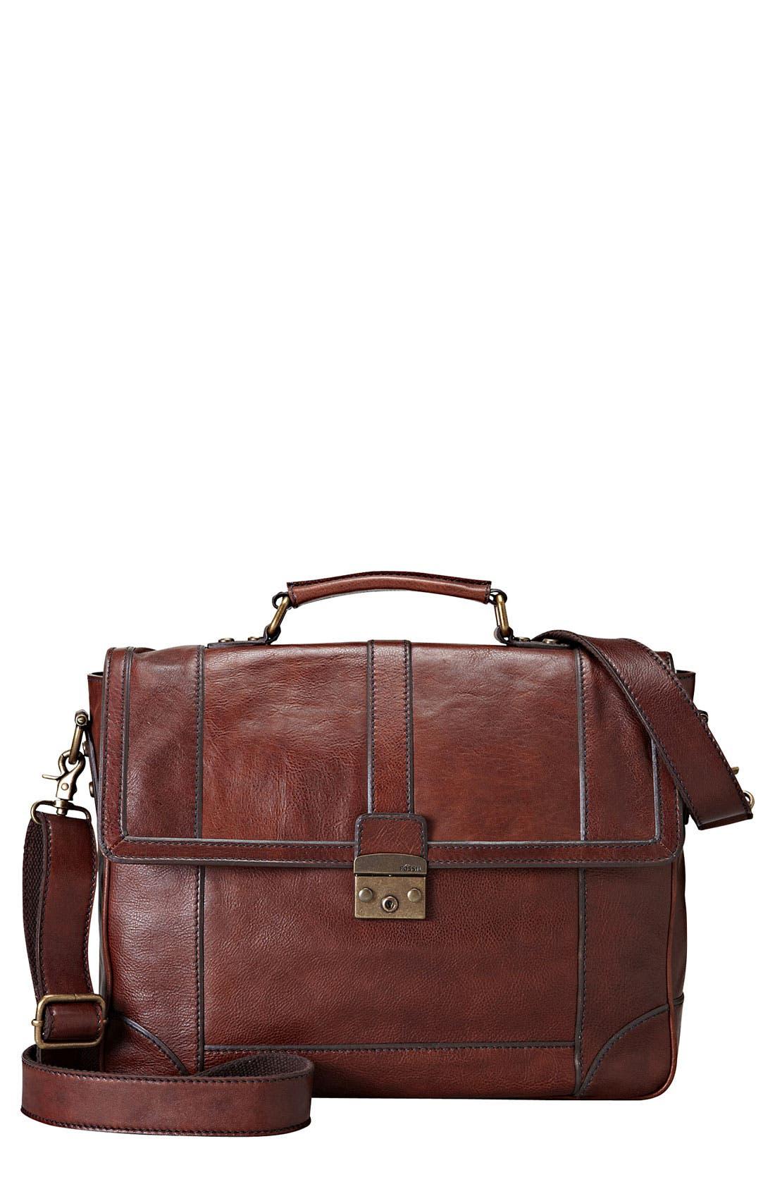 'Lineage' Messenger Bag, Main, color, 200