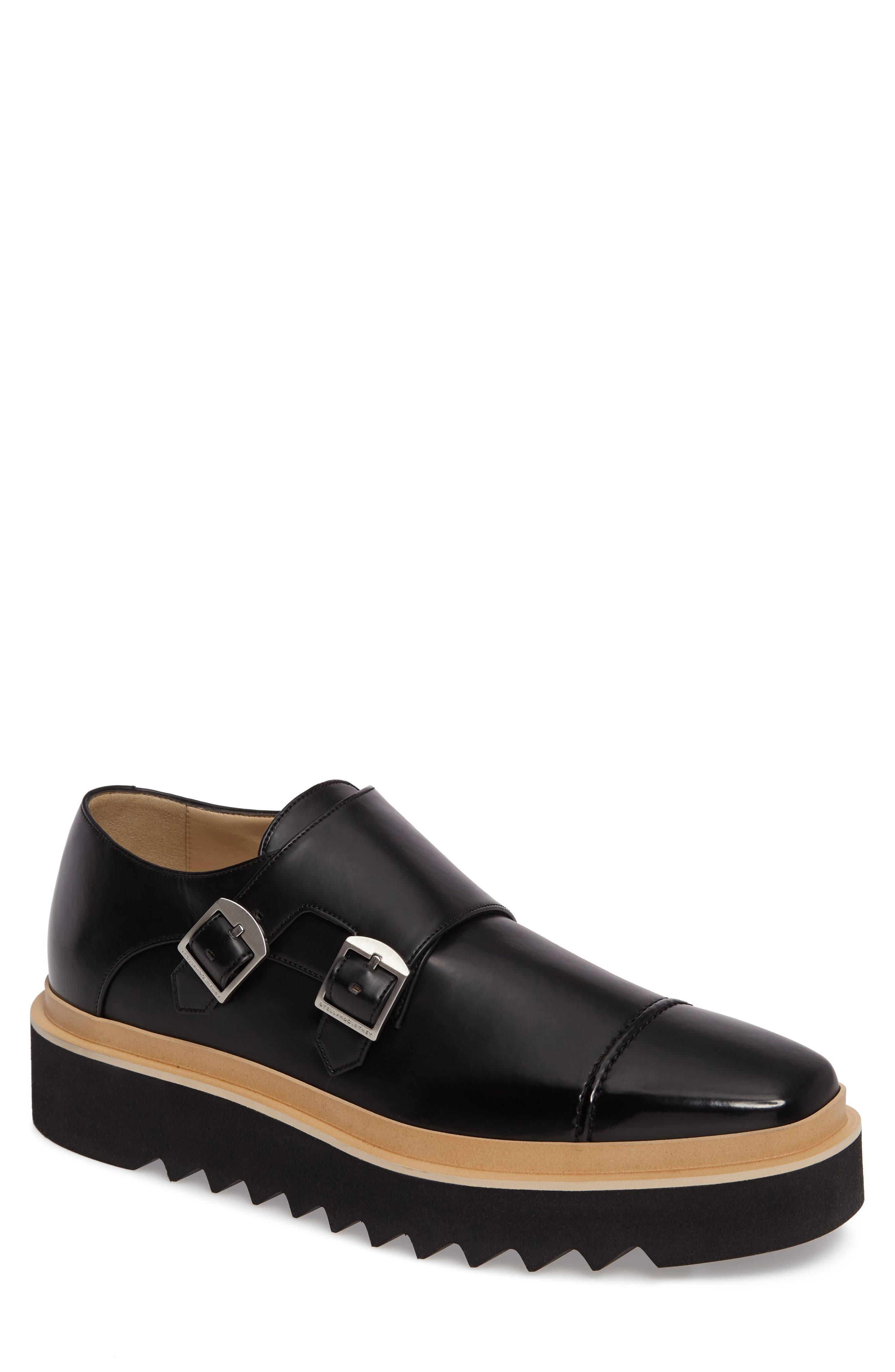 Peter Platform Monk Shoe,                         Main,                         color, 001
