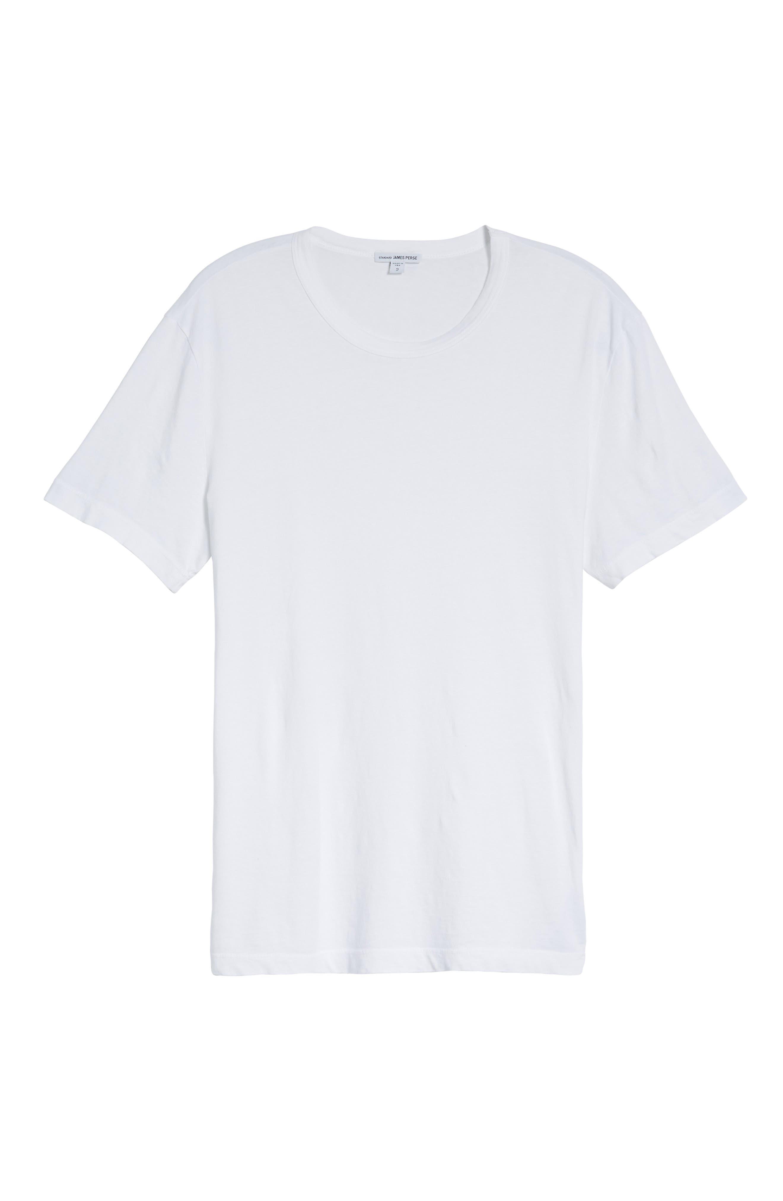 Crewneck Jersey T-Shirt,                             Alternate thumbnail 460, color,