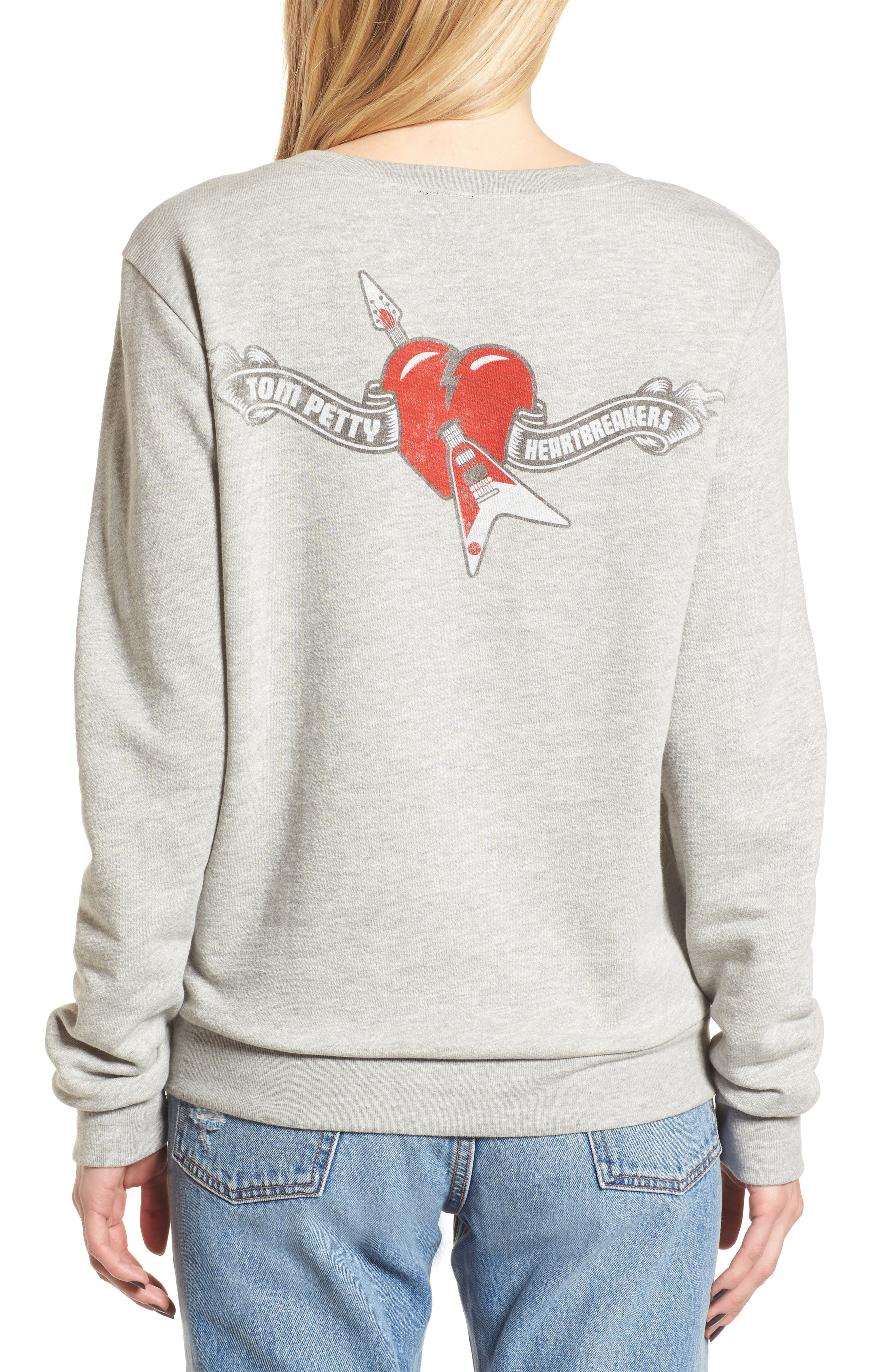 Tom Petty and the Heartbreakers Sweatshirt,                             Alternate thumbnail 2, color,                             020