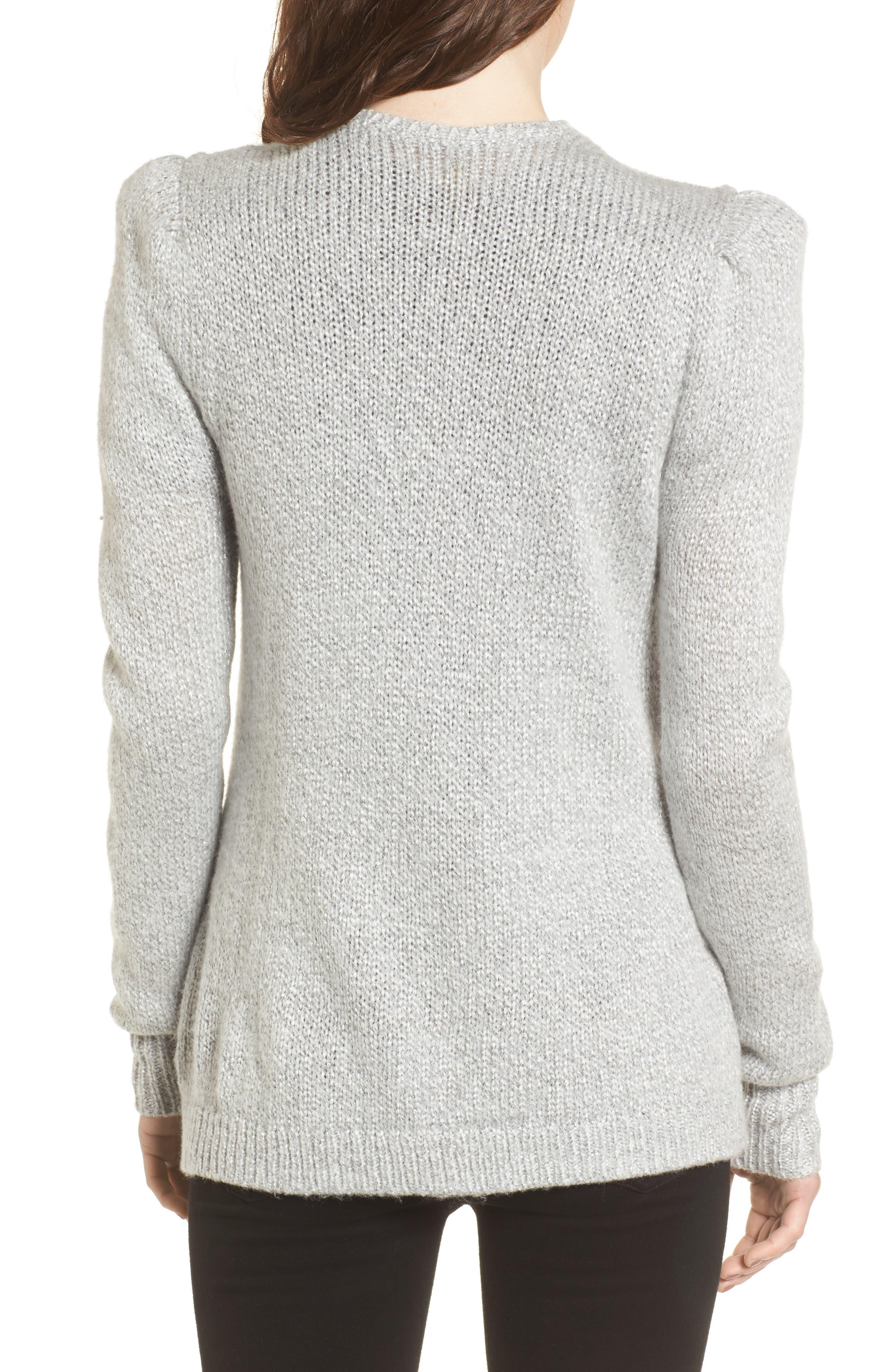 Shine Cardigan Sweater,                             Alternate thumbnail 2, color,                             020
