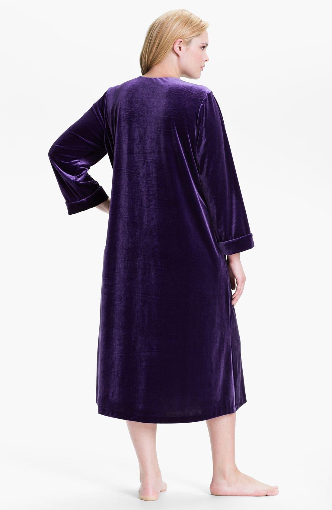 Sleepwear 'Zahara Nights' Robe,                             Alternate thumbnail 6, color,