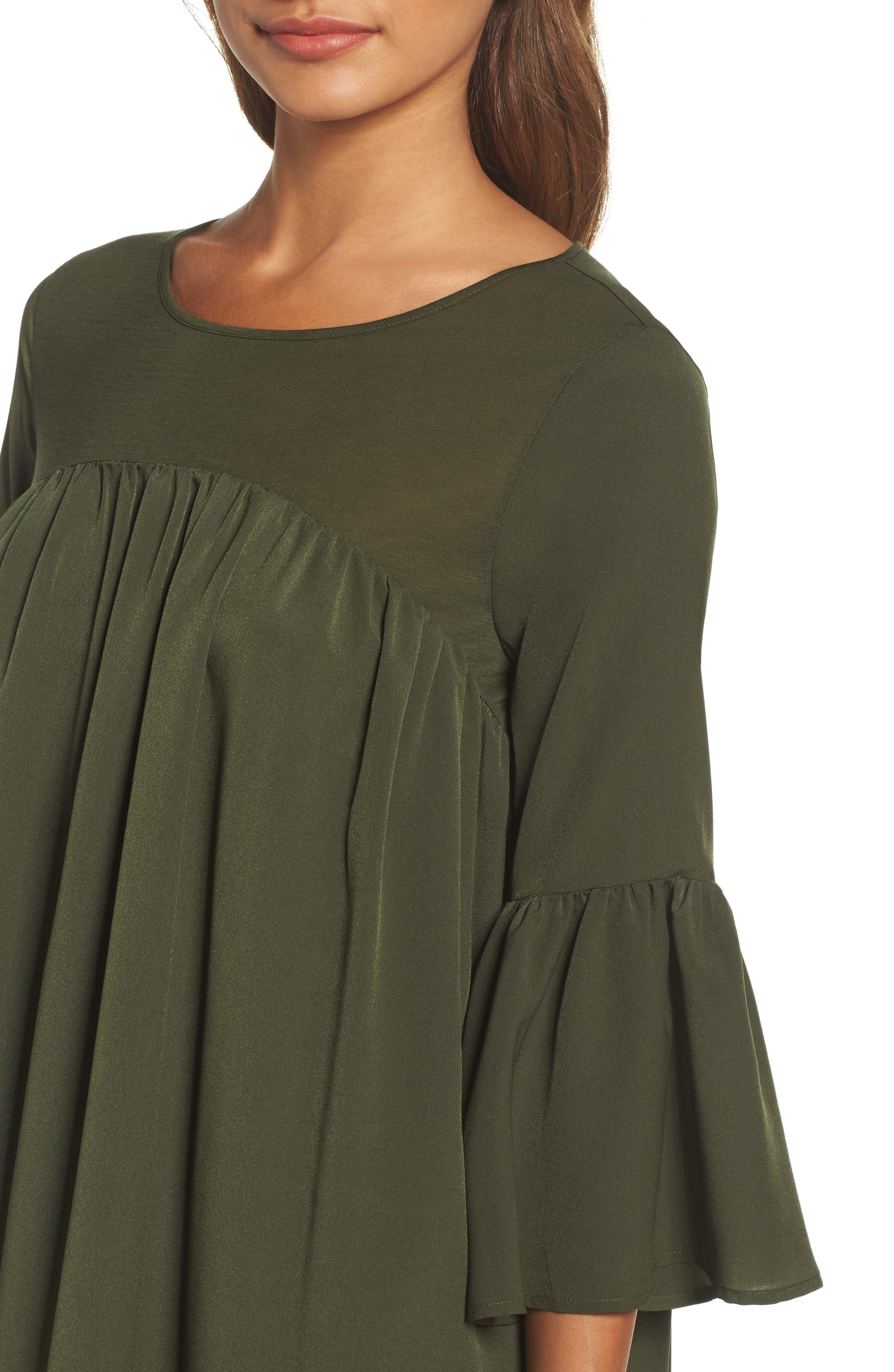 Polly Plains Shift Dress,                             Alternate thumbnail 8, color,