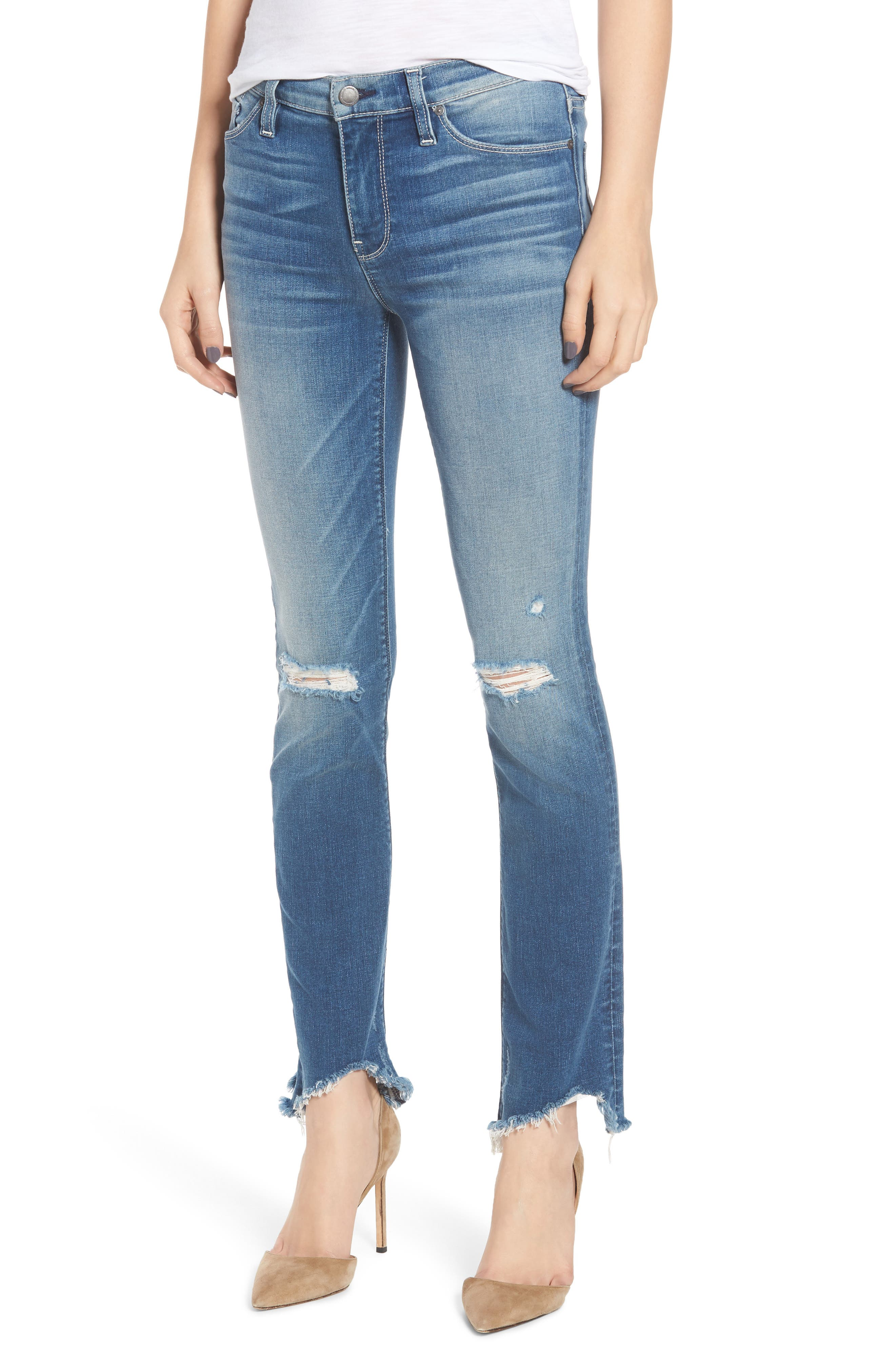 Hudson NICO STRAIGHT ANKLE JEANS
