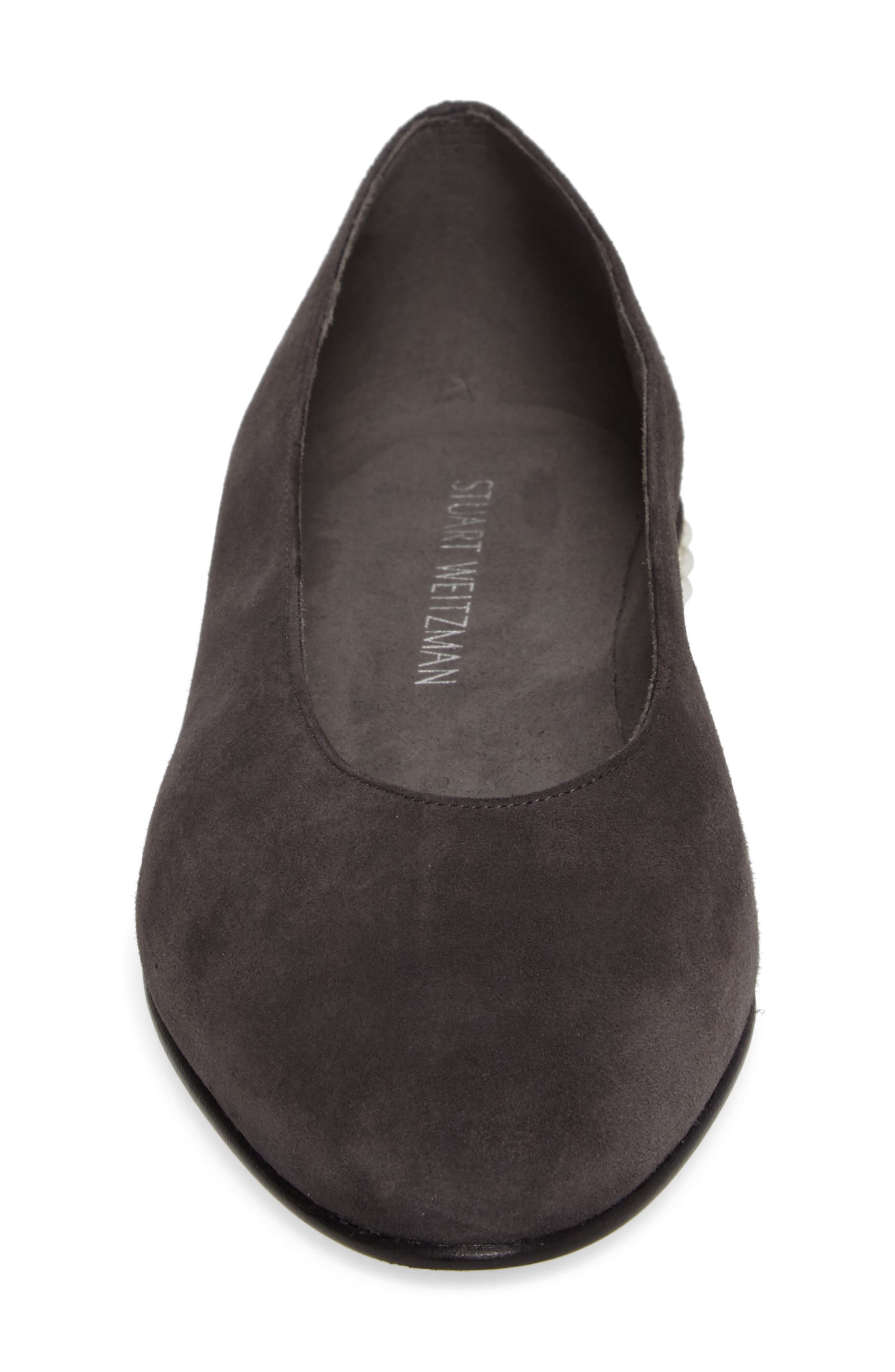 Chicpearl Ballet Flat,                             Alternate thumbnail 4, color,                             020