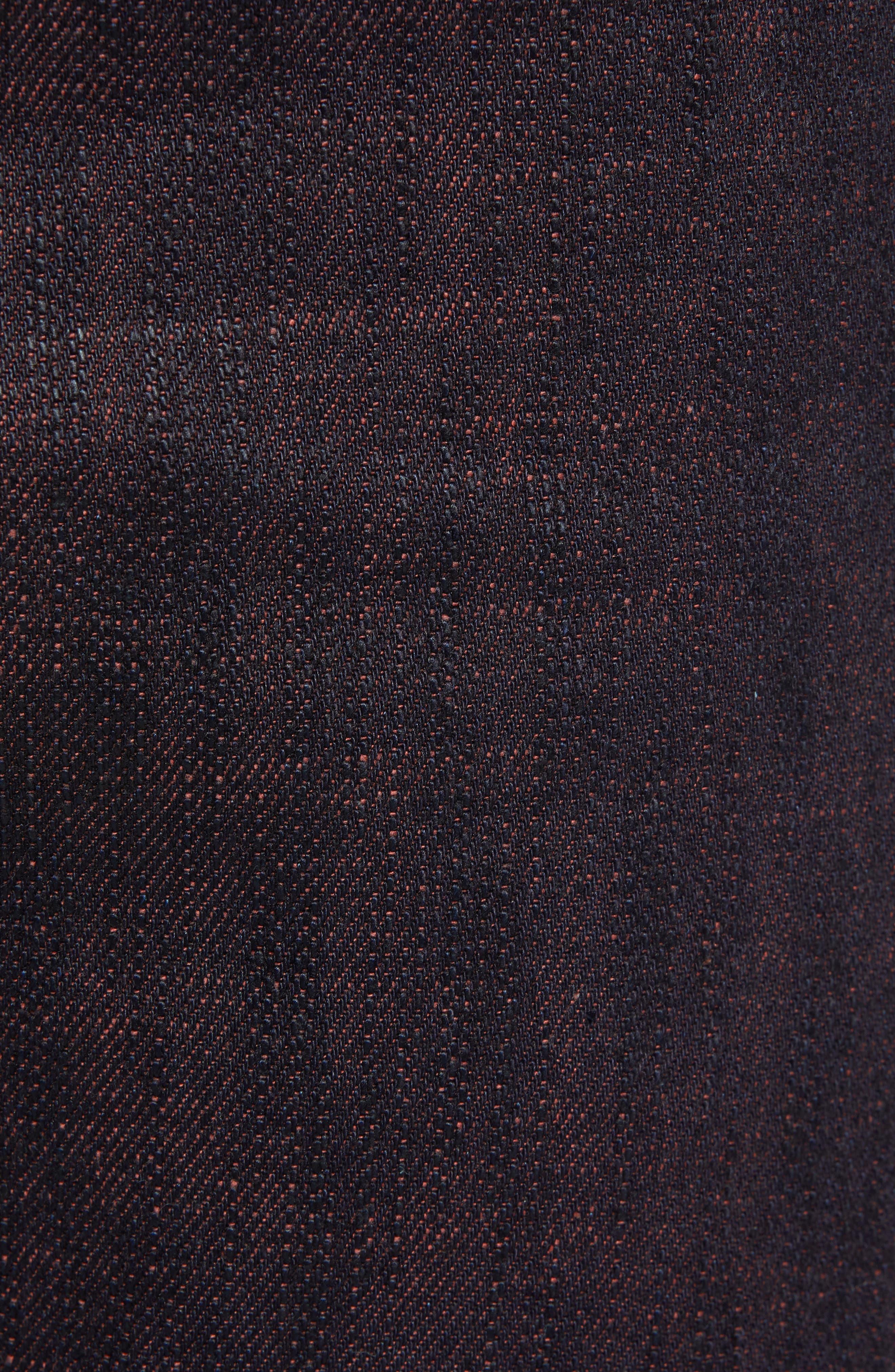 Weird Guy Slim Fit Jeans,                             Alternate thumbnail 5, color,                             KEN SHORYUKEN SELVEDGE