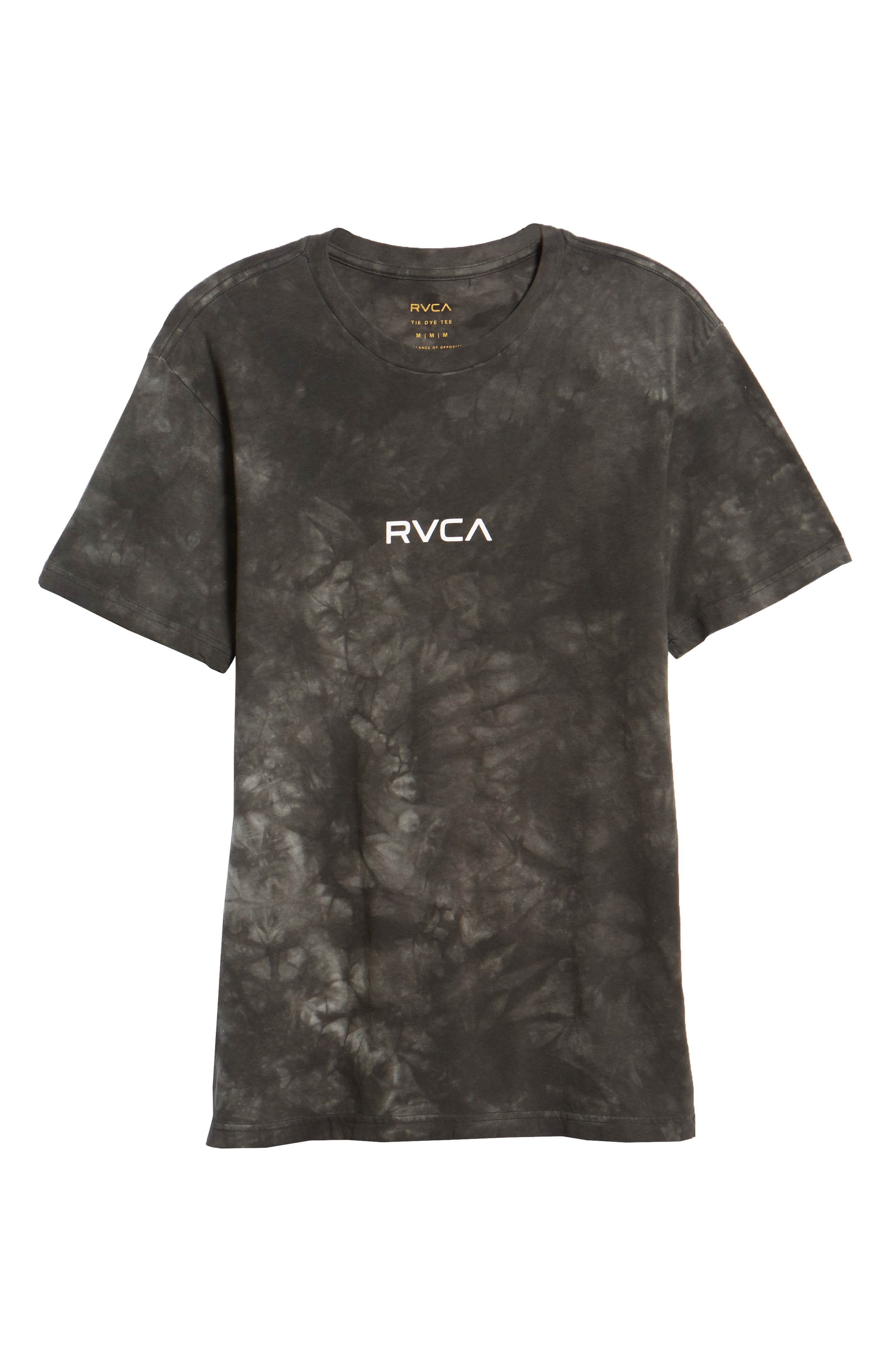 Center Graphic T-Shirt,                             Alternate thumbnail 6, color,                             PIRATE BLACK
