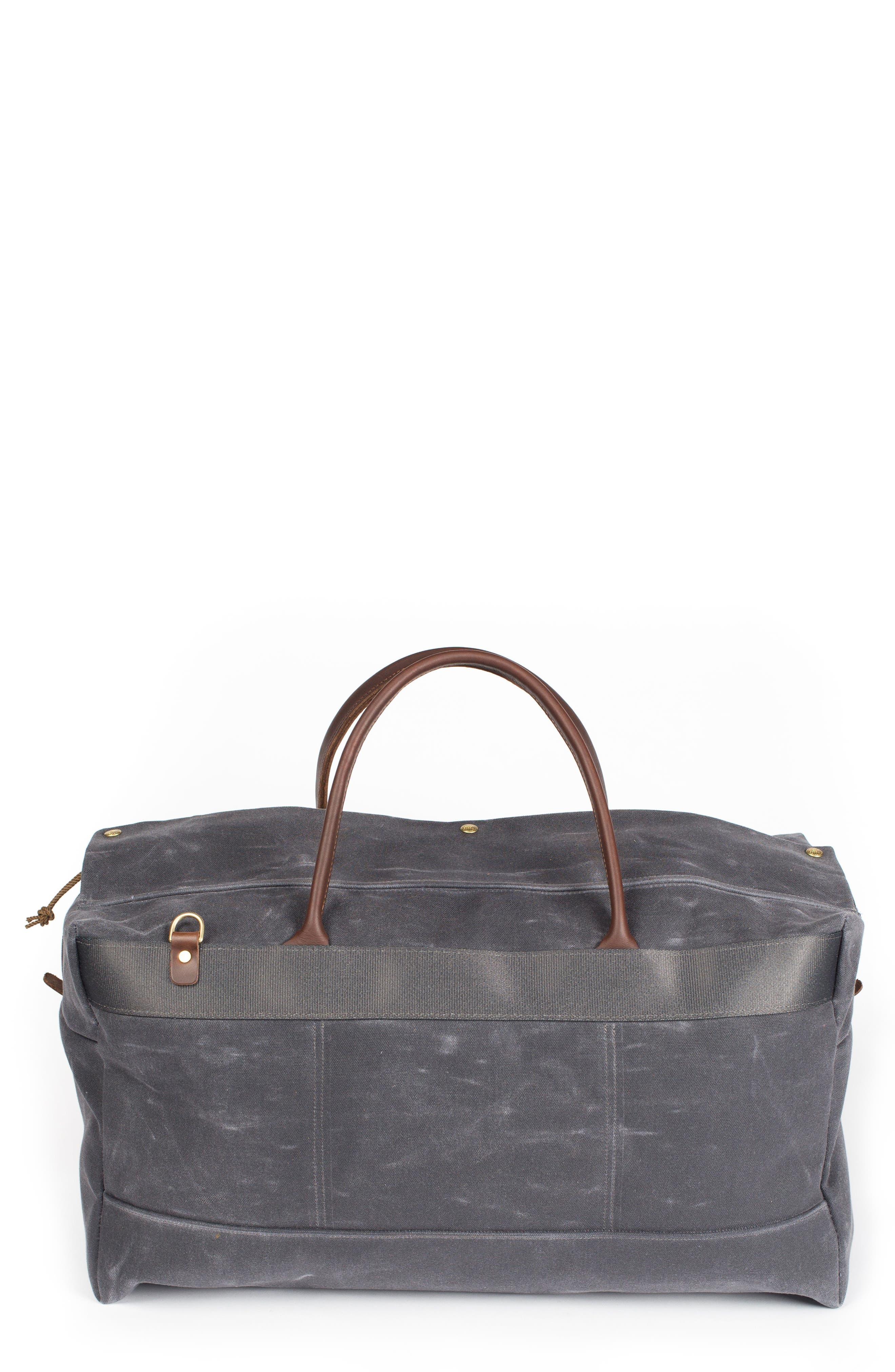 Grand Tourer Waxed Canvas Duffel Bag,                         Main,                         color, 021