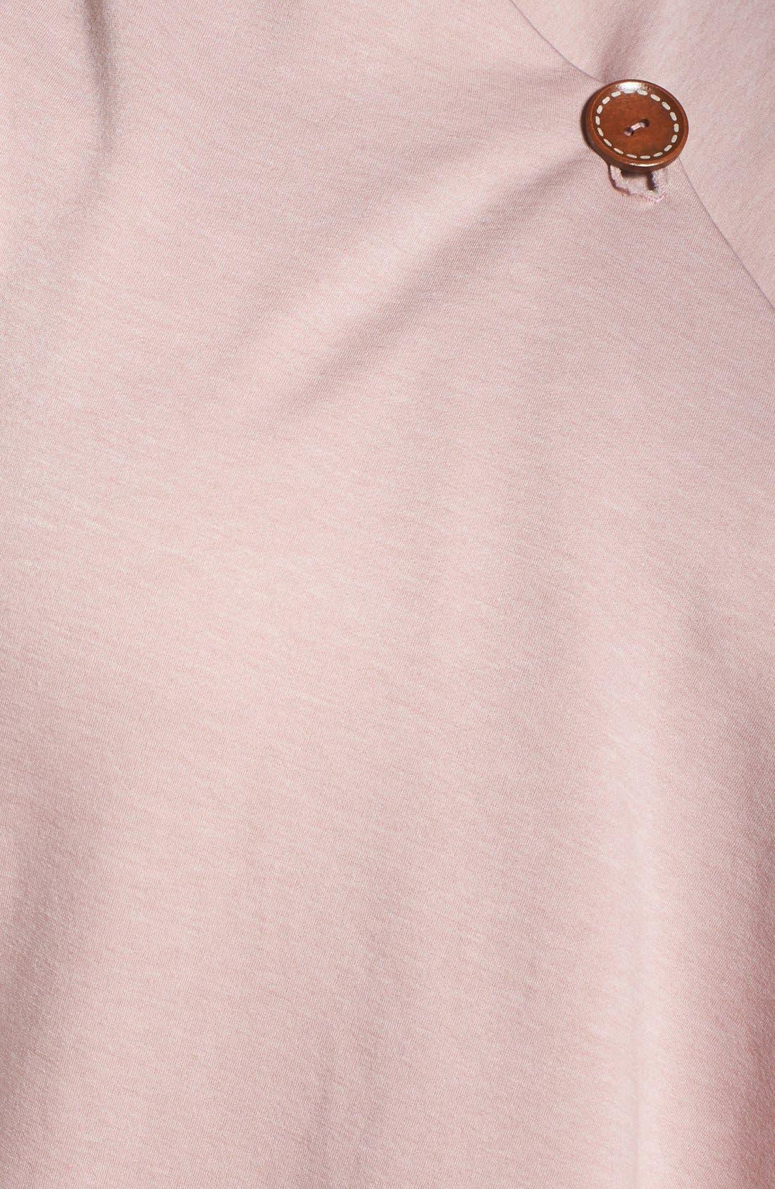 One-Button Fleece Cardigan,                             Alternate thumbnail 223, color,