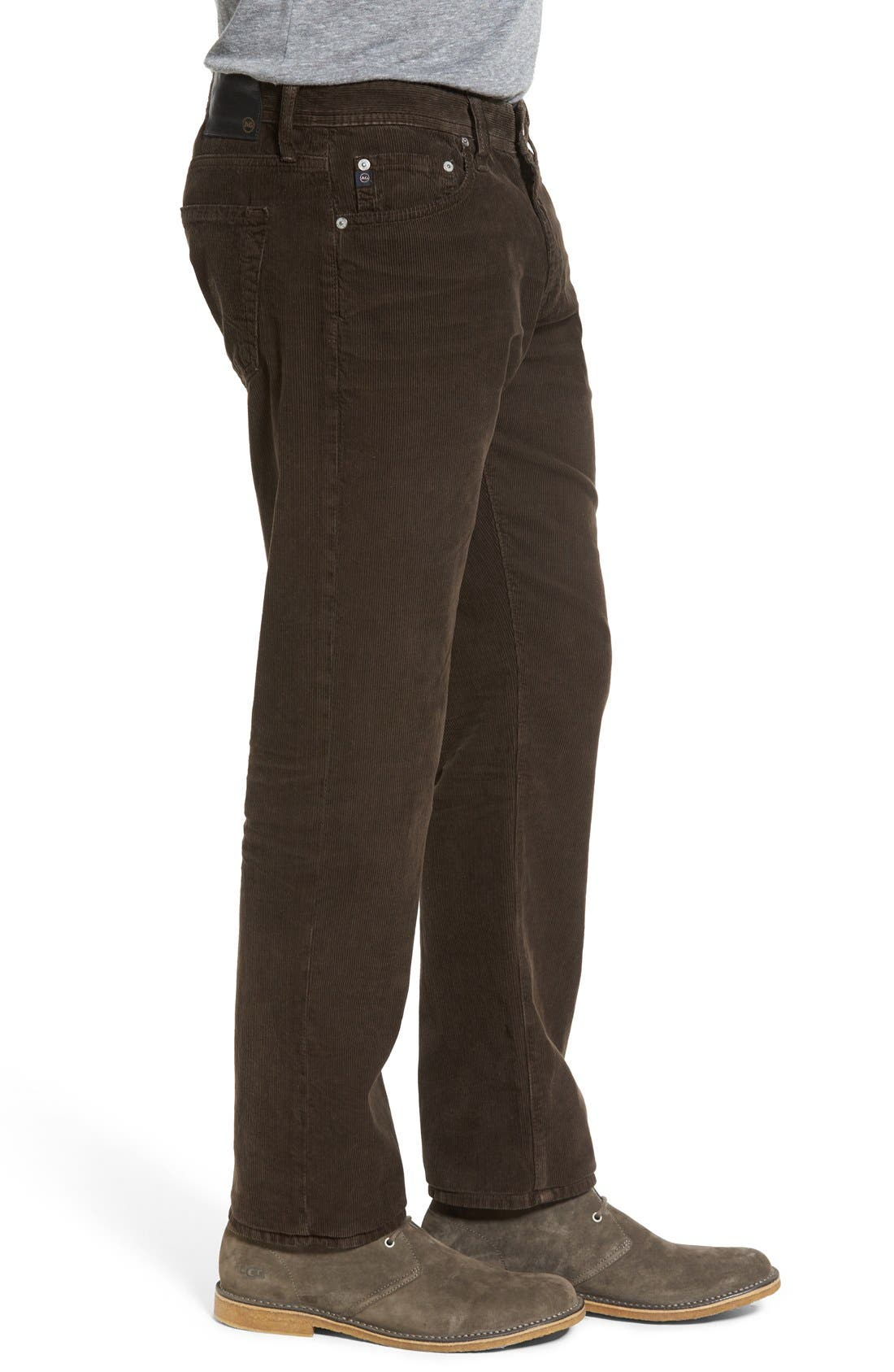 'Graduate' Tailored Straight Leg Corduroy Pants,                             Alternate thumbnail 38, color,