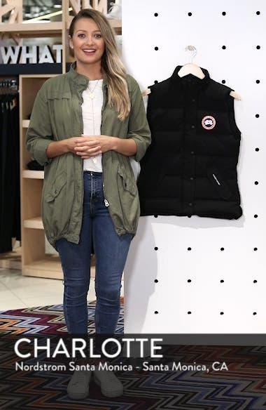 'Freestyle' Slim Fit Down Vest, sales video thumbnail