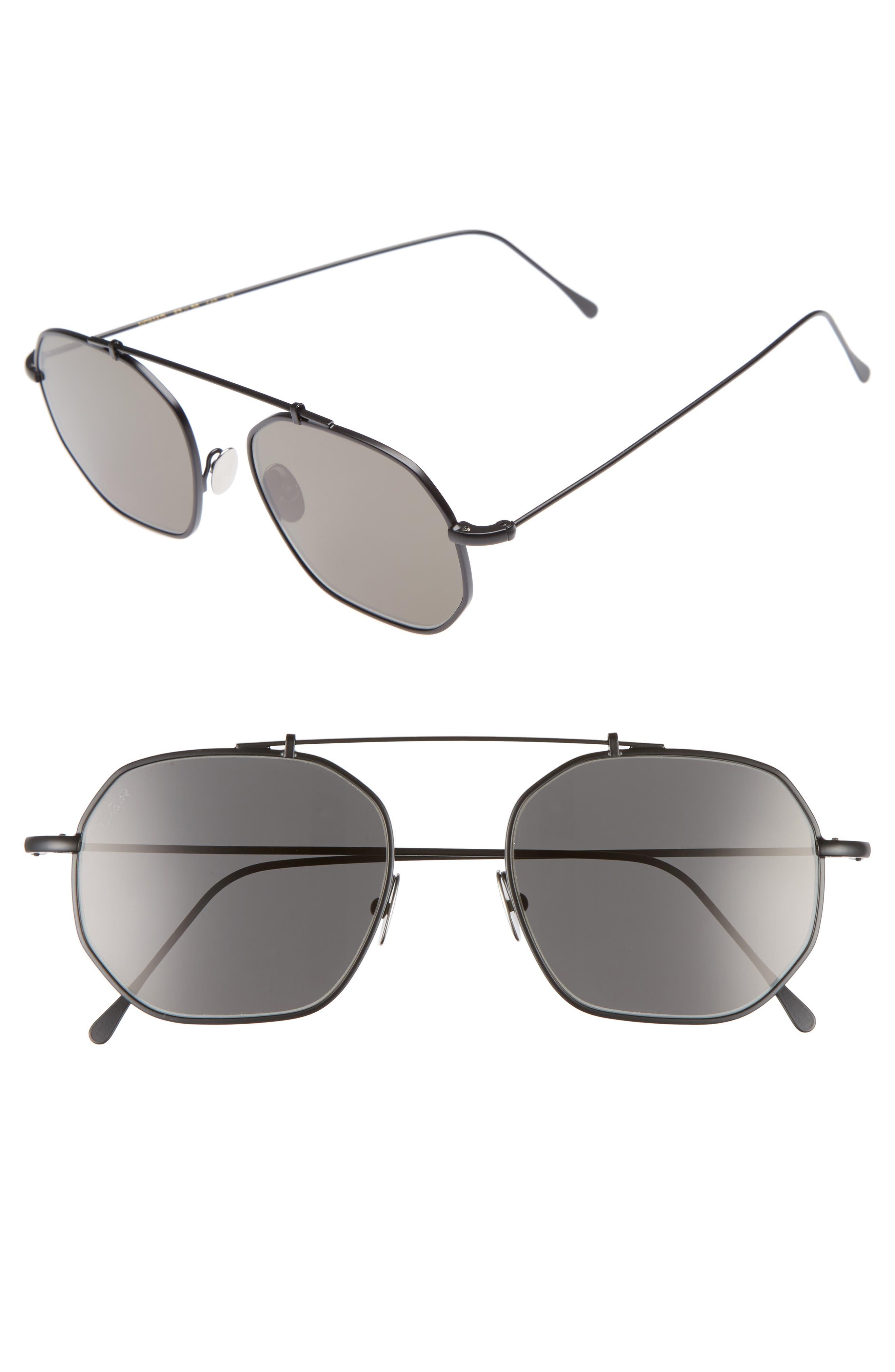 Nomad 52mm Sunglasses,                             Main thumbnail 1, color,                             001