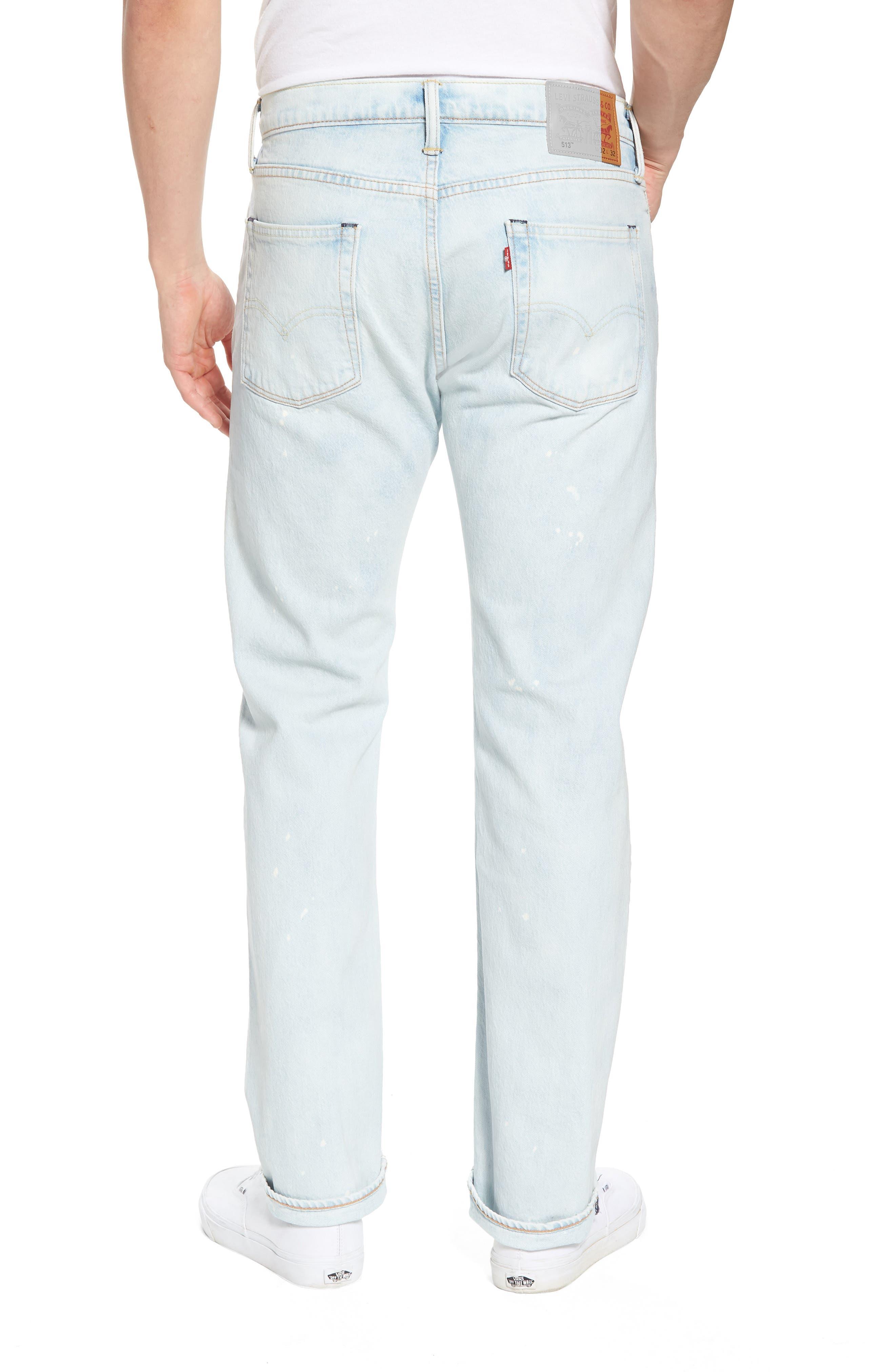 513<sup>™</sup> Slim Straight Leg Jeans,                             Alternate thumbnail 2, color,                             420