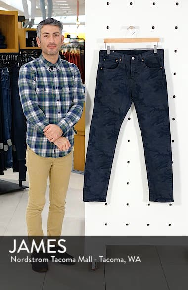 x Justin Timberlake 501<sup>®</sup> Slim Taper Jeans, sales video thumbnail