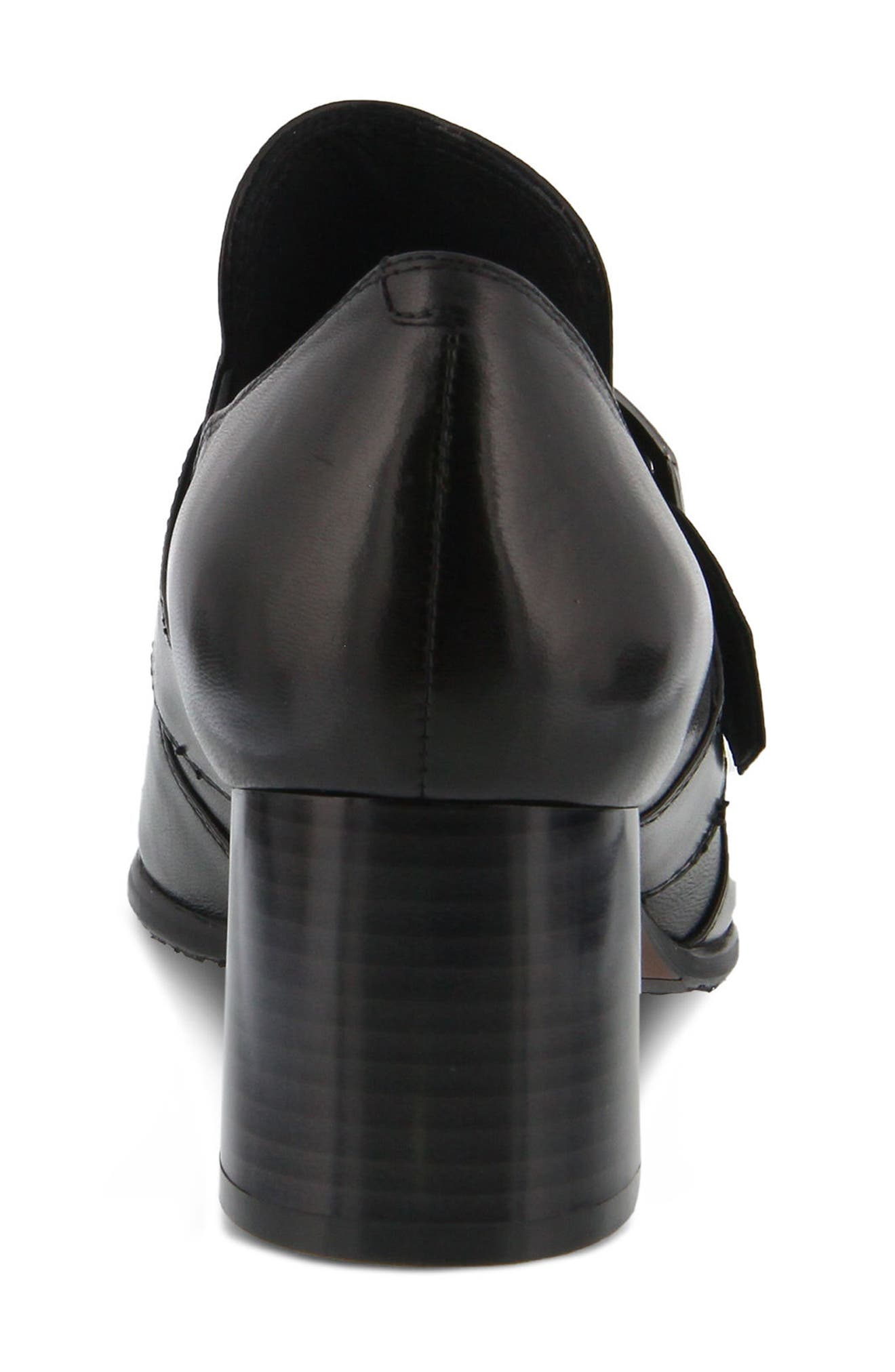 Dayana Bootie,                             Alternate thumbnail 6, color,                             BLACK LEATHER